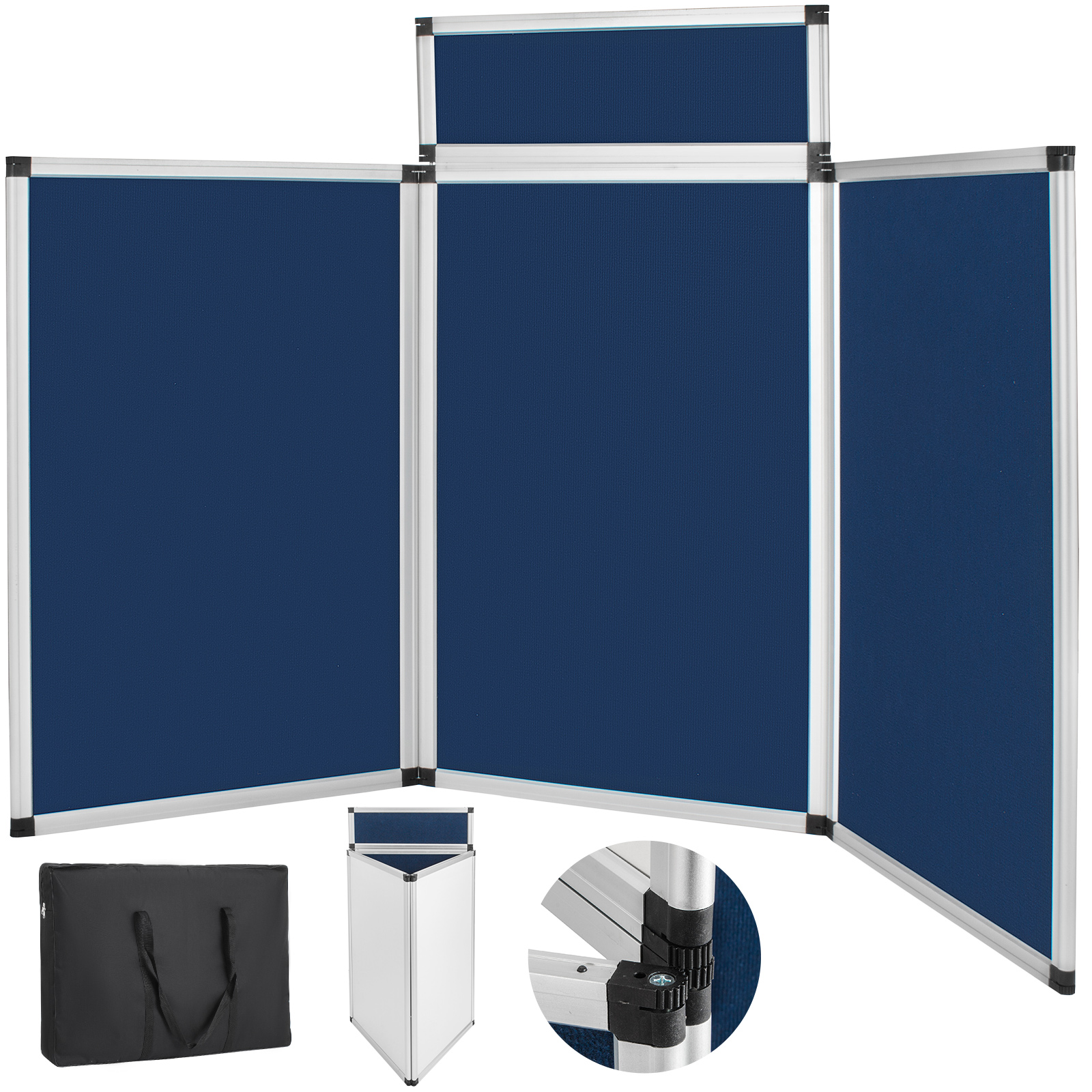 Portable Exhibition Display Boards : Folding portable display board exhibition trade show presentation