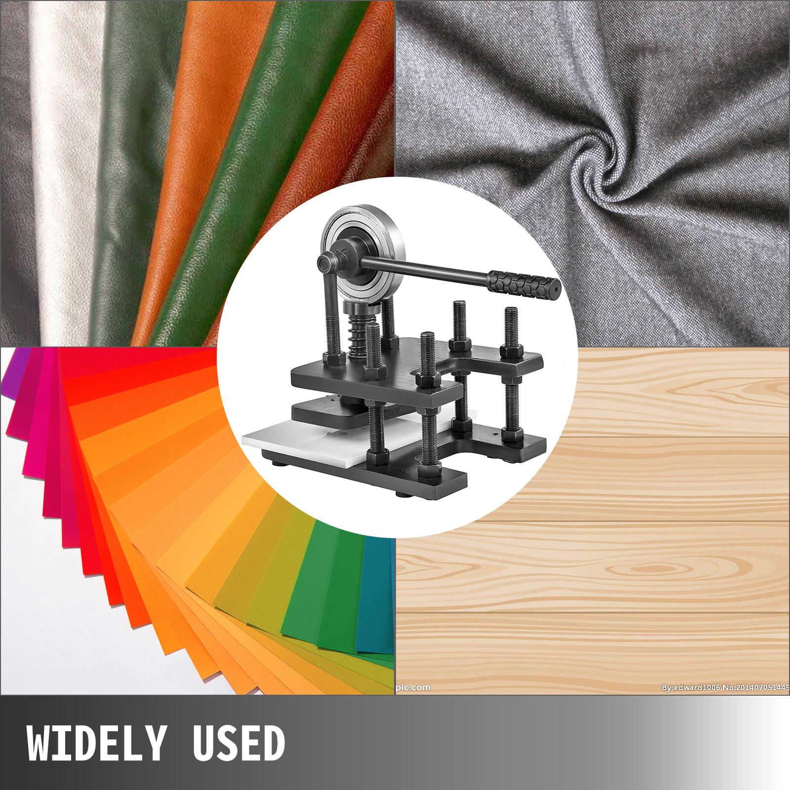 La nostra azienda produce scatole e imballaggi per coloro che hanno bisogno di un packaging di qualità. Goffratrice Manuale in Pelle 18x12 CM per Fustellatrice | eBay