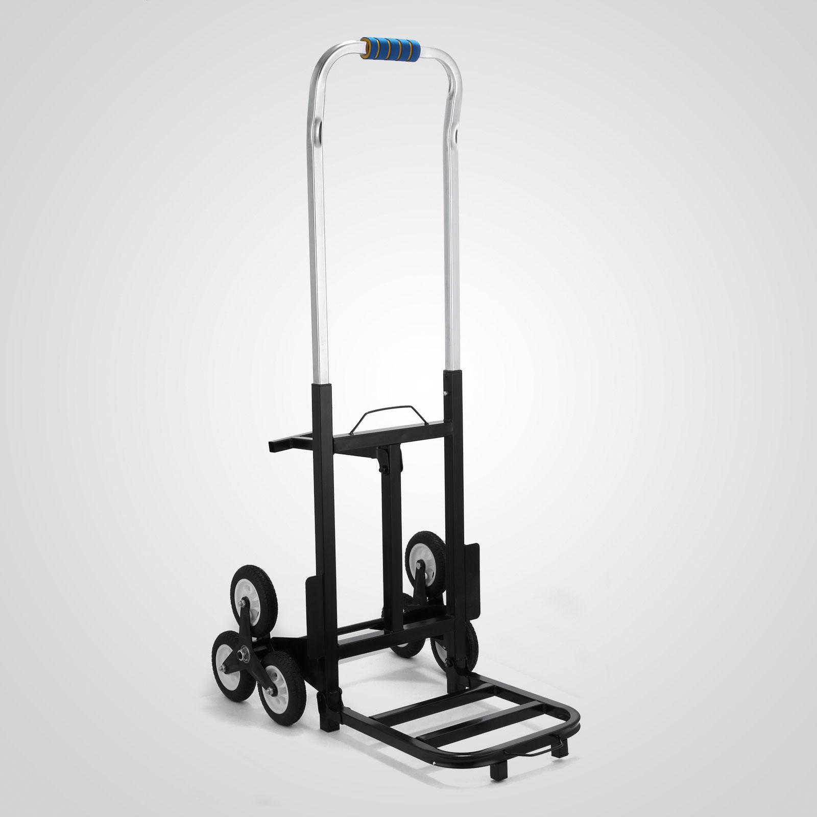 190kg Portable Steel Frame Six Wheeled Stair Climbing Hand