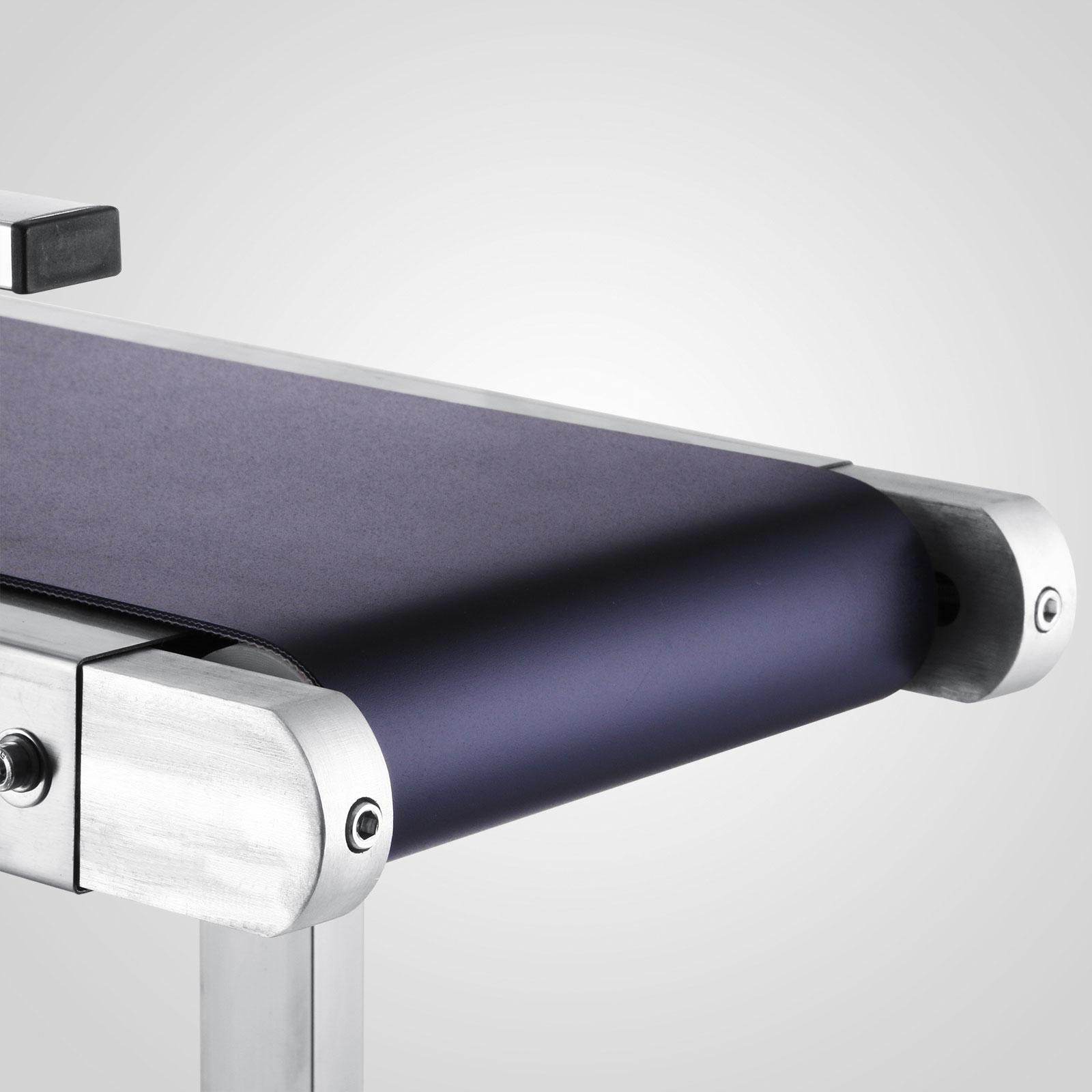 Einzel Zaun Förderband 1500x200mm Transportband Bandförderer Elektrisch 1.5m