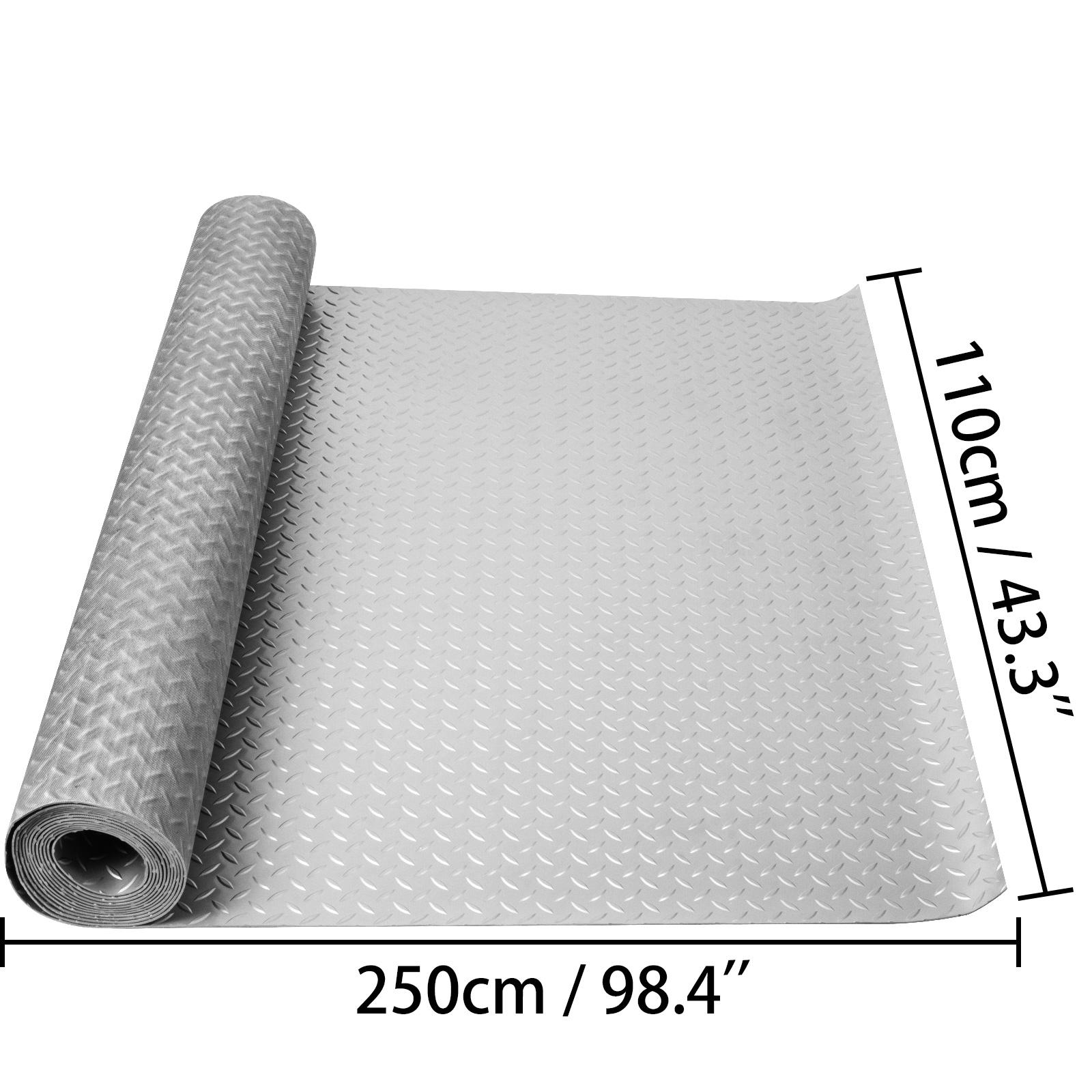 thumbnail 20 - Garage Flooring Mat Roll Car Trailer Floor Covering 1.1m Width Gym Floor Roll