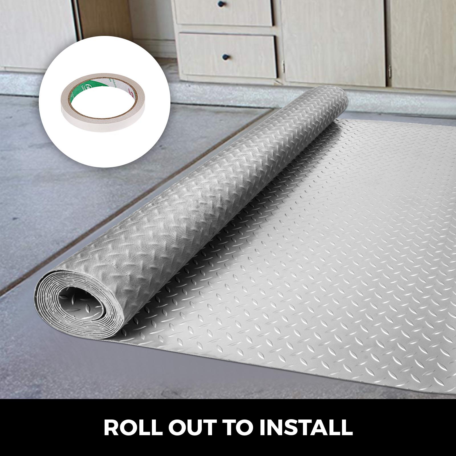 thumbnail 29 - Garage Flooring Mat Roll Car Trailer Floor Covering 1.1m Width Gym Floor Roll