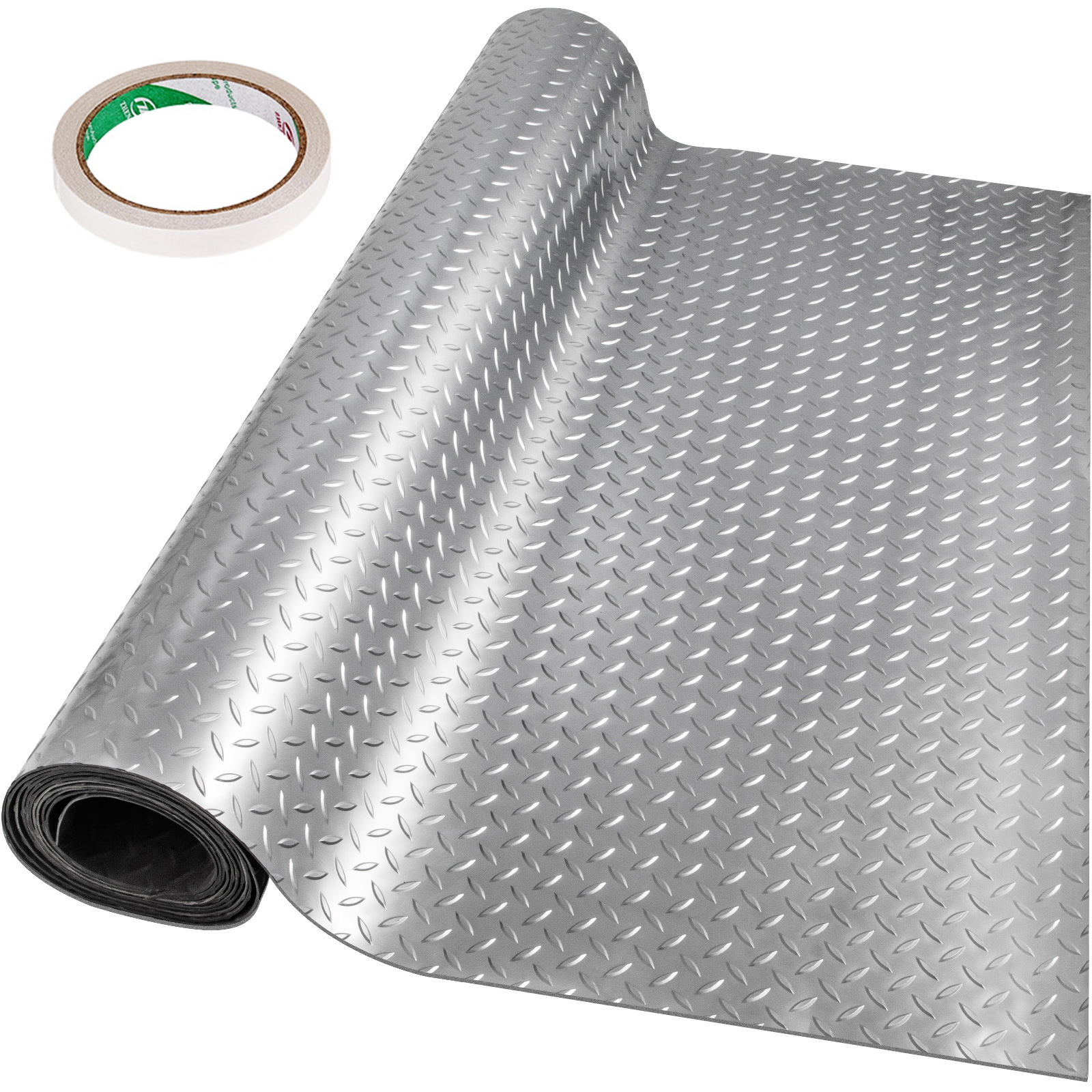 thumbnail 49 - Garage Flooring Mat Roll Car Trailer Floor Covering 1.1m Width Gym Floor Roll