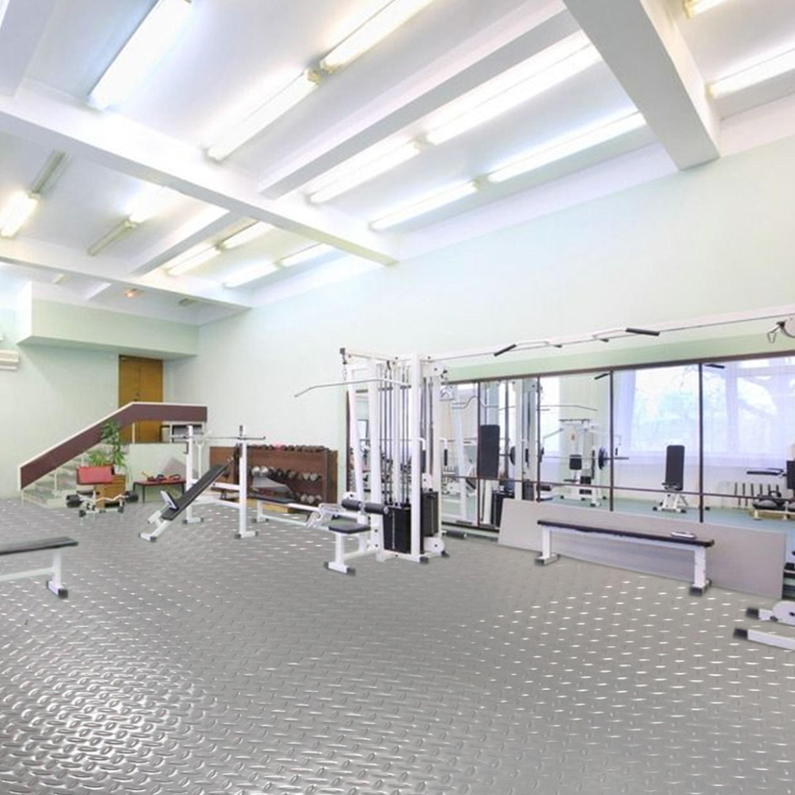 thumbnail 58 - Garage Flooring Mat Roll Car Trailer Floor Covering 1.1m Width Gym Floor Roll