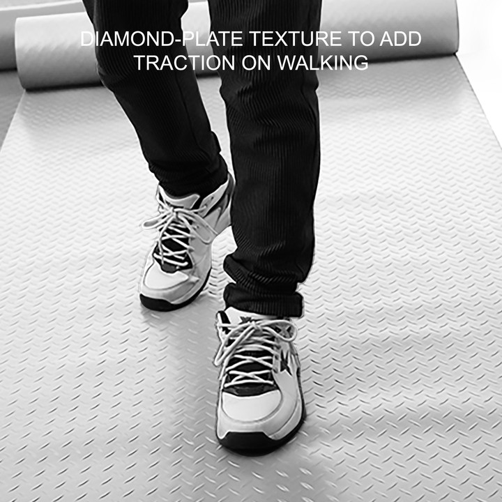 thumbnail 51 - Garage Flooring Mat Roll Car Trailer Floor Covering 1.1m Width Gym Floor Roll
