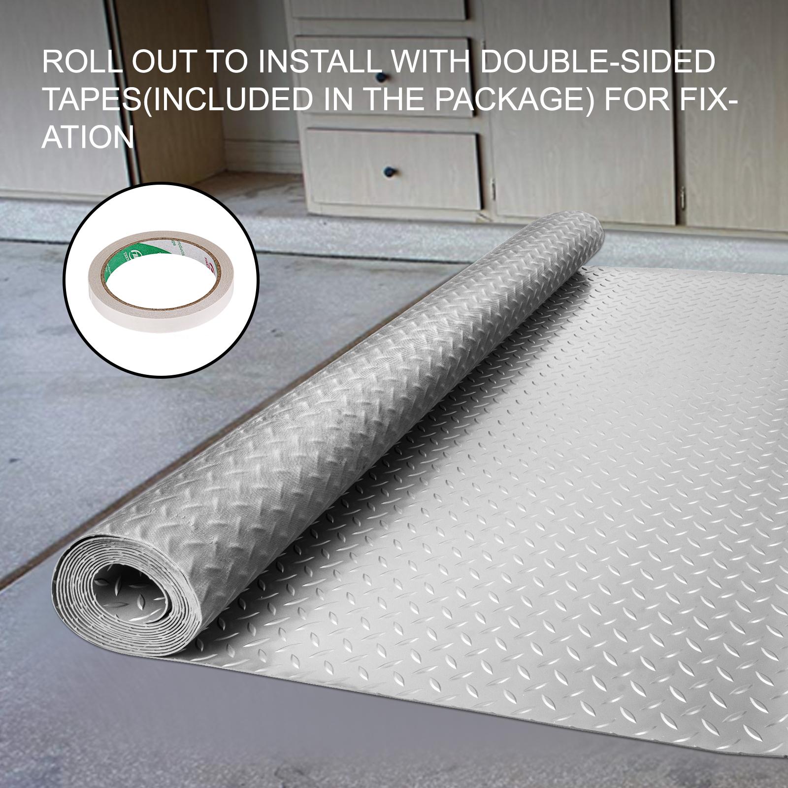 thumbnail 53 - Garage Flooring Mat Roll Car Trailer Floor Covering 1.1m Width Gym Floor Roll