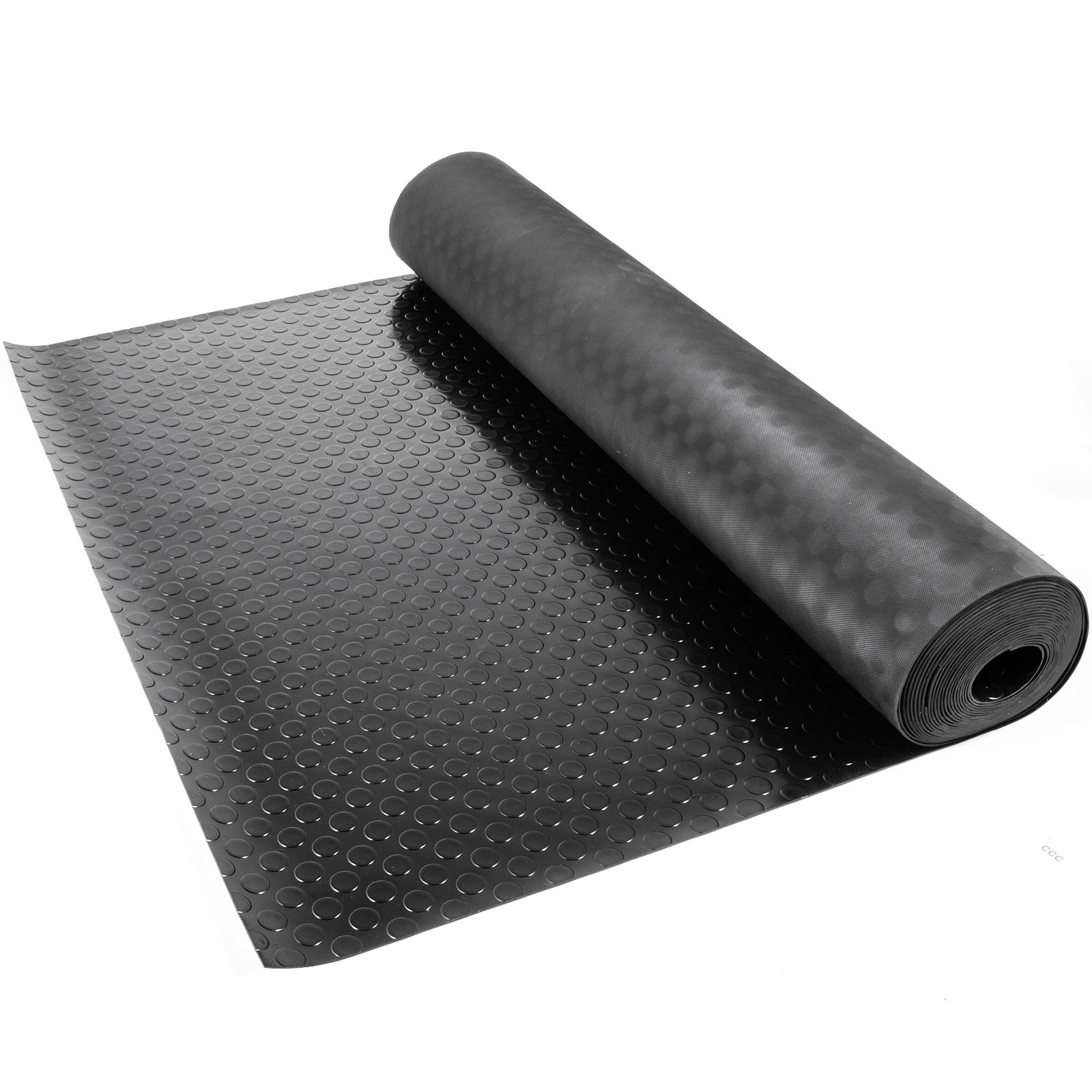 thumbnail 155 - Garage Flooring Mat Roll Car Trailer Floor Covering 1.1m Width Gym Floor Roll