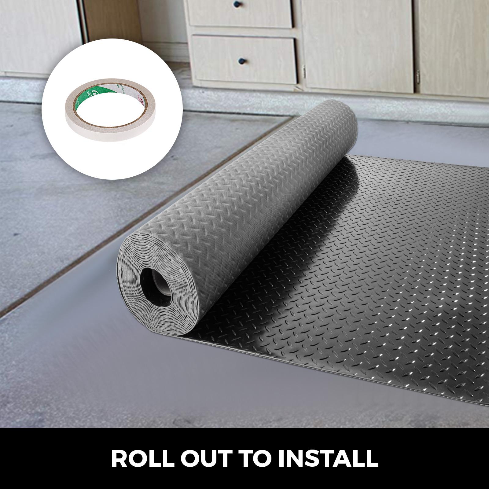thumbnail 101 - Garage Flooring Mat Roll Car Trailer Floor Covering 1.1m Width Gym Floor Roll