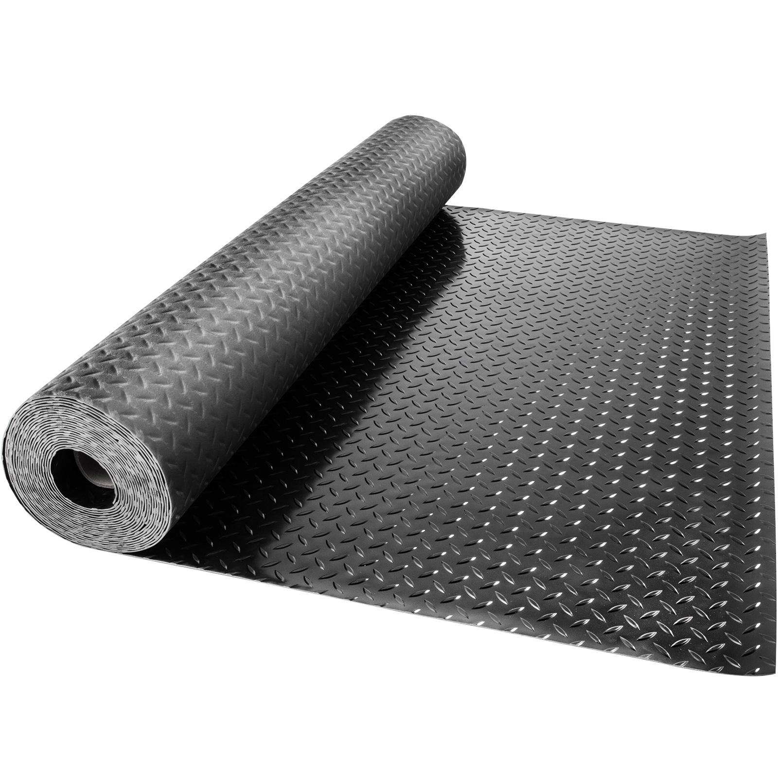 thumbnail 131 - Garage Flooring Mat Roll Car Trailer Floor Covering 1.1m Width Gym Floor Roll
