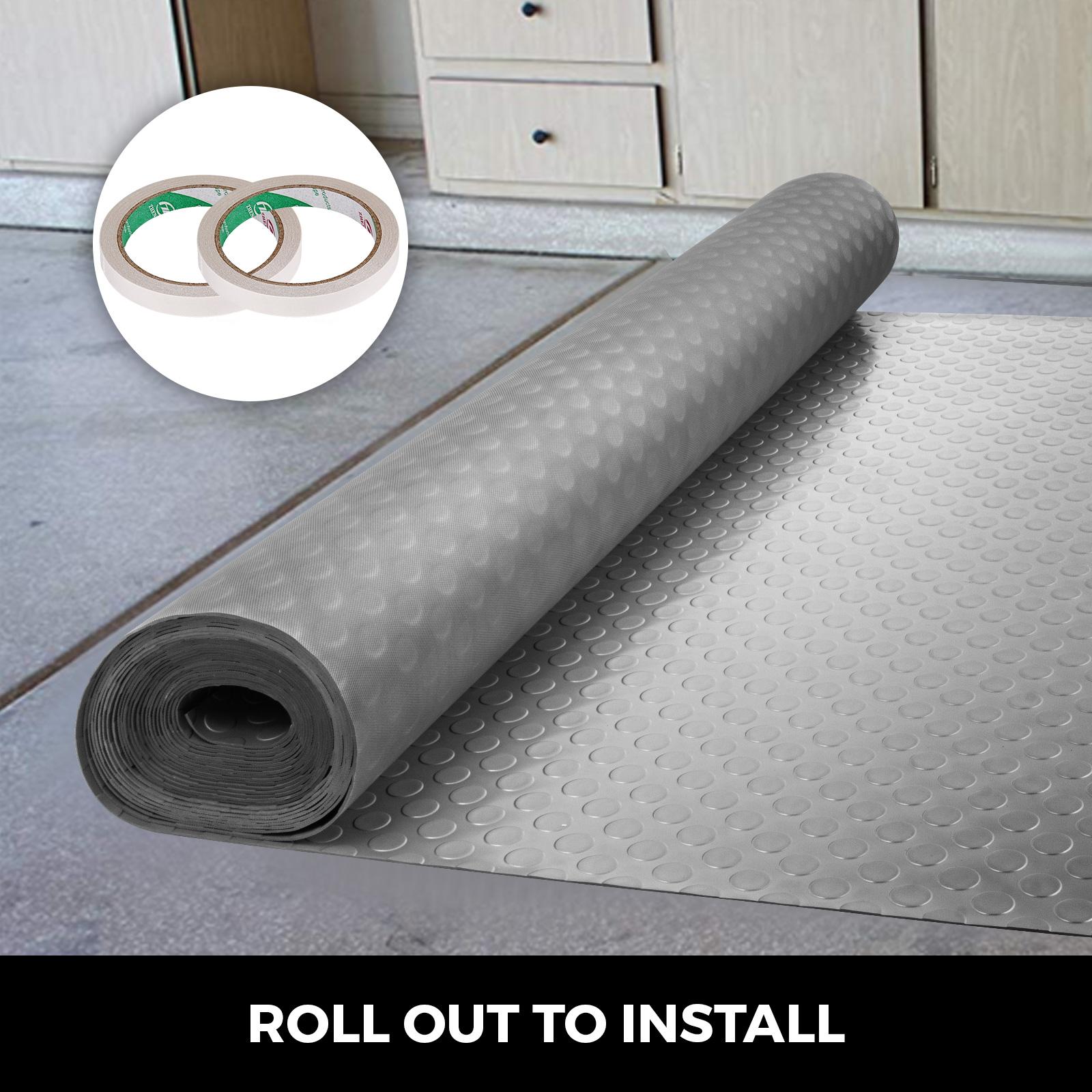 thumbnail 137 - Garage Flooring Mat Roll Car Trailer Floor Covering 1.1m Width Gym Floor Roll
