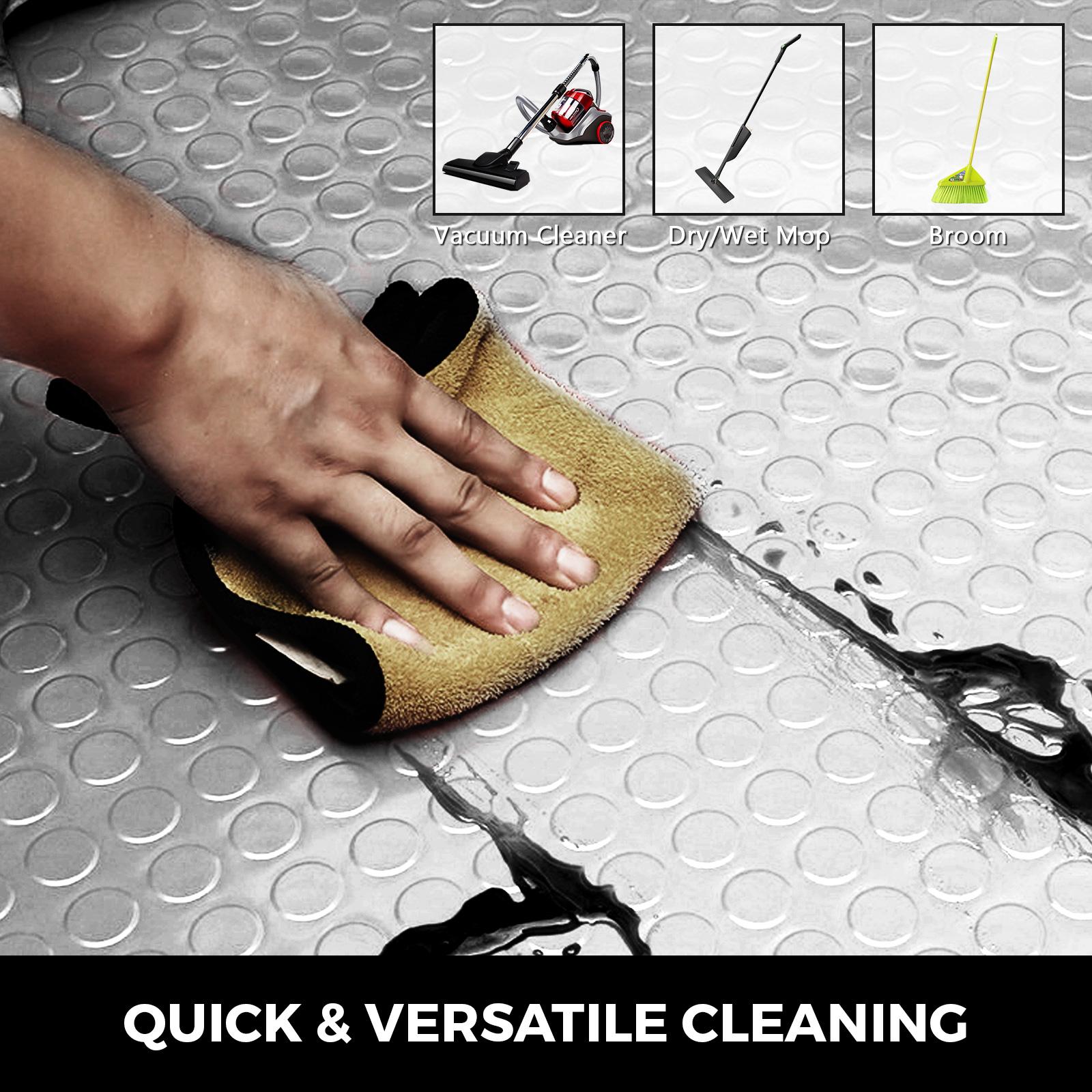 thumbnail 138 - Garage Flooring Mat Roll Car Trailer Floor Covering 1.1m Width Gym Floor Roll