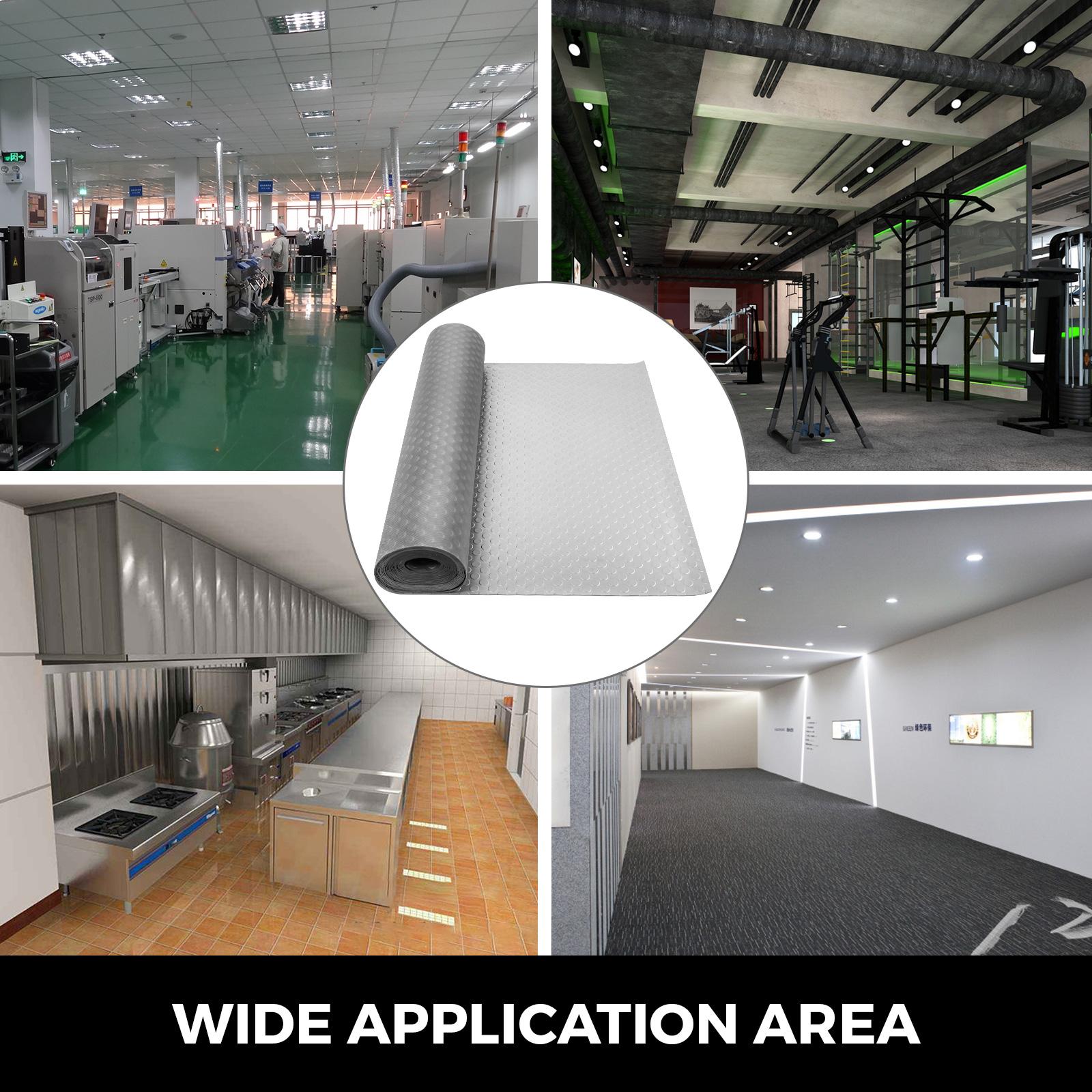 thumbnail 139 - Garage Flooring Mat Roll Car Trailer Floor Covering 1.1m Width Gym Floor Roll