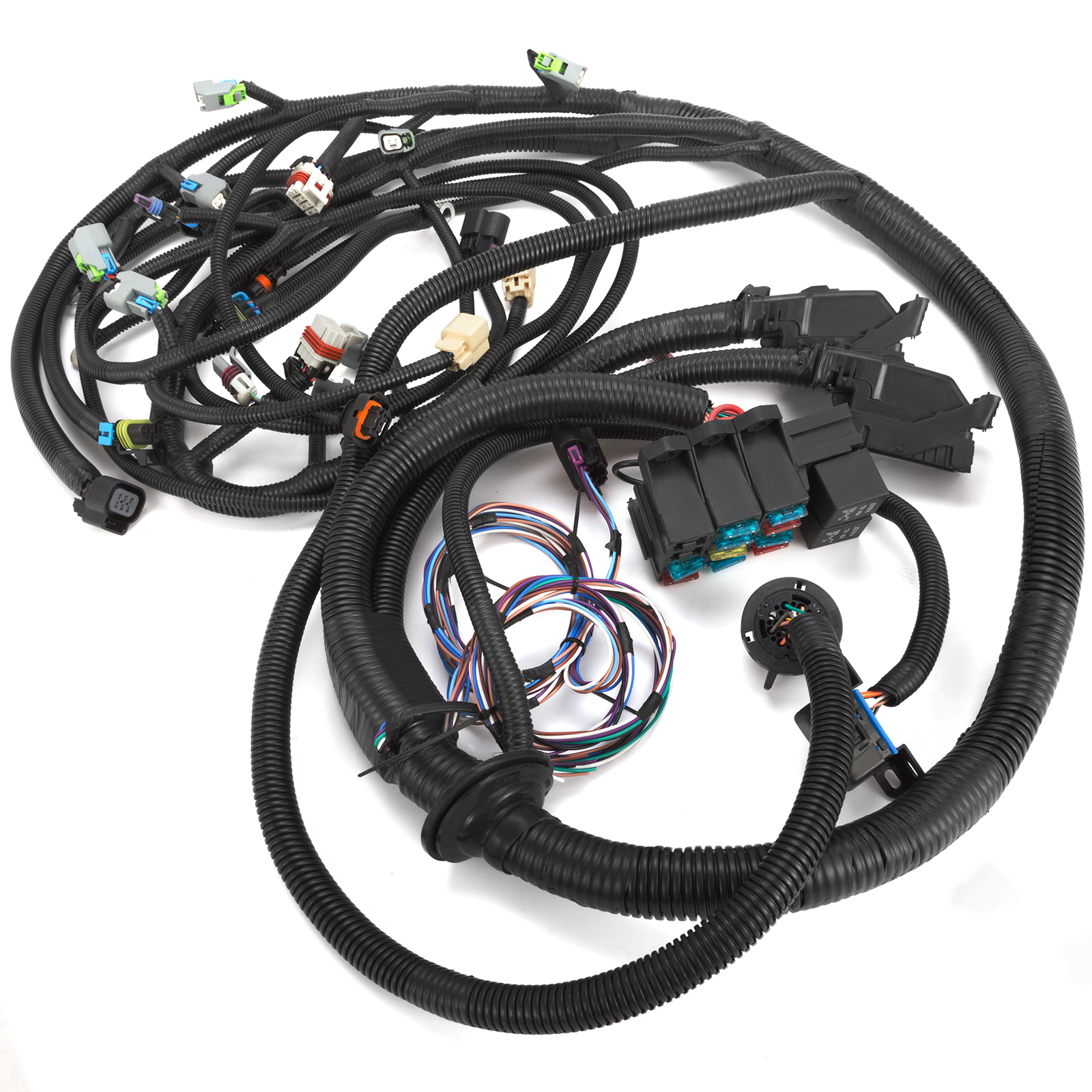 Set Standalone Wiring Harness With 6l80e For 2008
