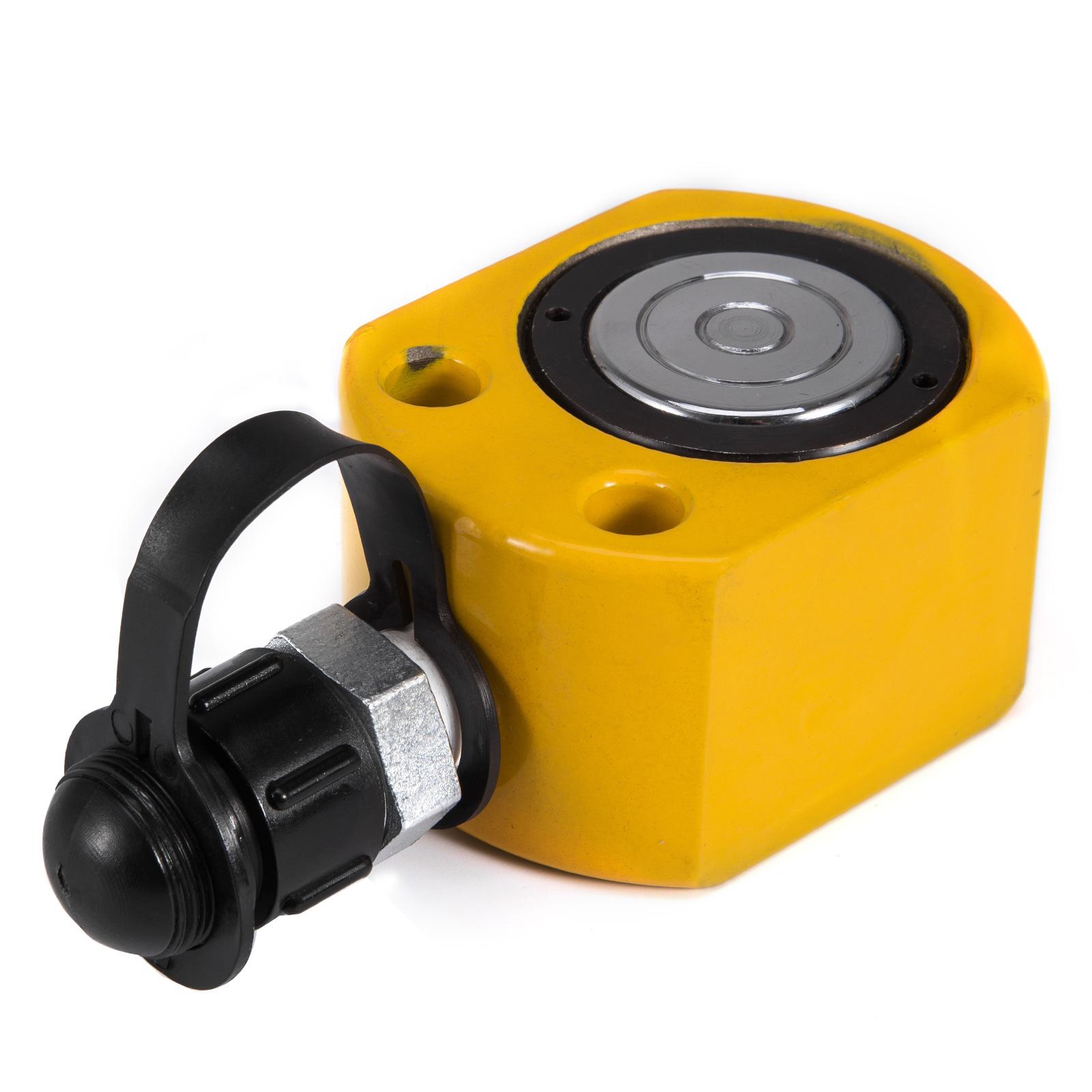 10T 11mm Ultra-thin Hydraulic Cylinder Jack Metal Localfast 10T//22000LBS ON SALE