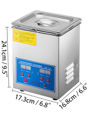 ultrasonic cleaner, 1.8-2L, jewelry cleaner