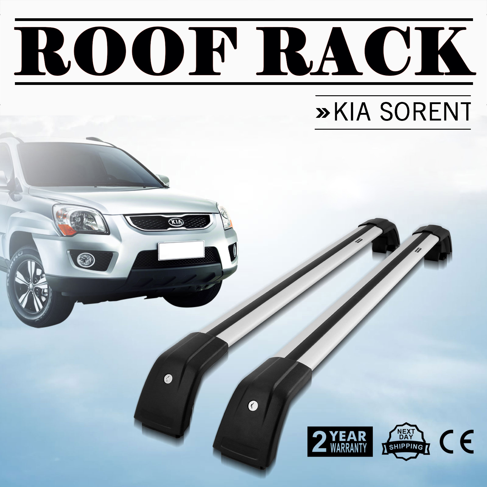 New Top Roof Rack For Kia Sorento 2014 2019 Baggage
