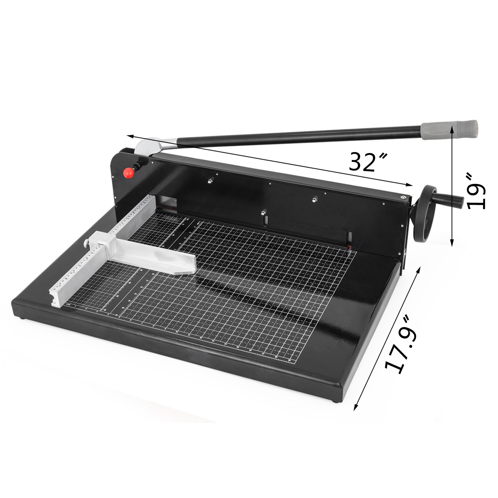 12-17-19-034-Width-Guillotine-Paper-Cutter-Stack-Paper-Guillotine-Trimmer thumbnail 46