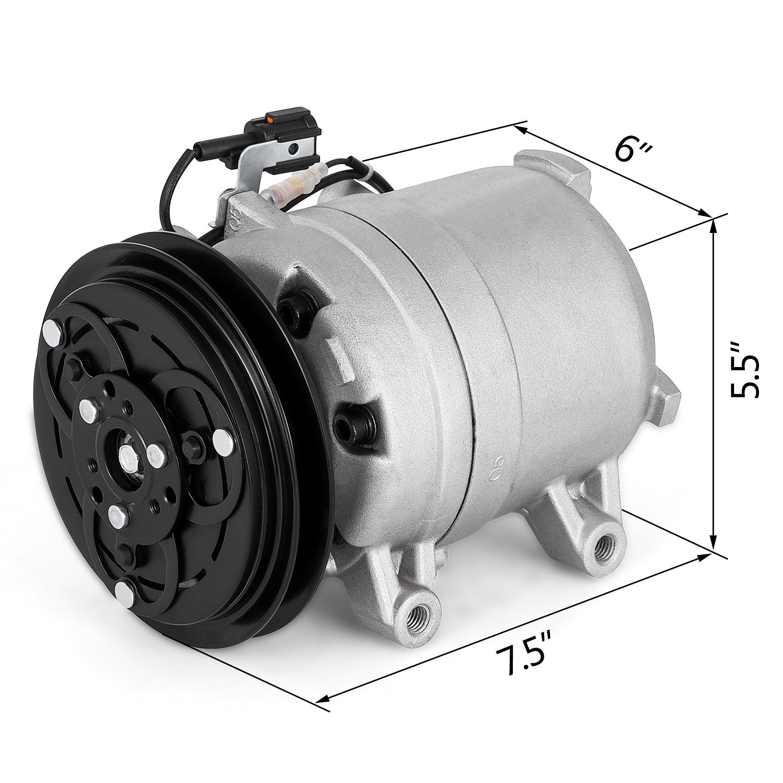 Hot A//C Compressor Fits Nissan Frontier Xterra XE SE 2.4L 1998-2004 68455 Fast