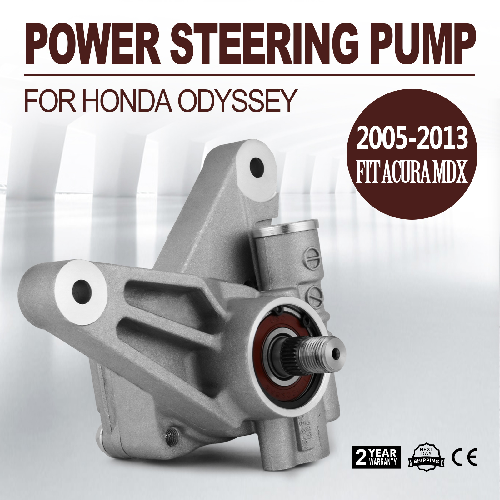 Power Steering Pump For Honda Odyssey Acura Hydraulically Tested Repair  3471CC