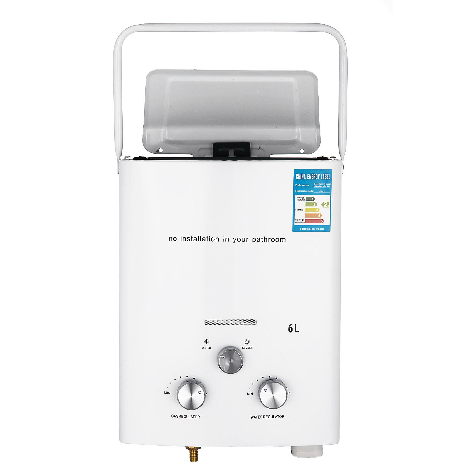 Propangas-Gas-Durchlauferhitzer-Warmwasserbereiter-Boiler-Warmwasserspeicher Indexbild 15