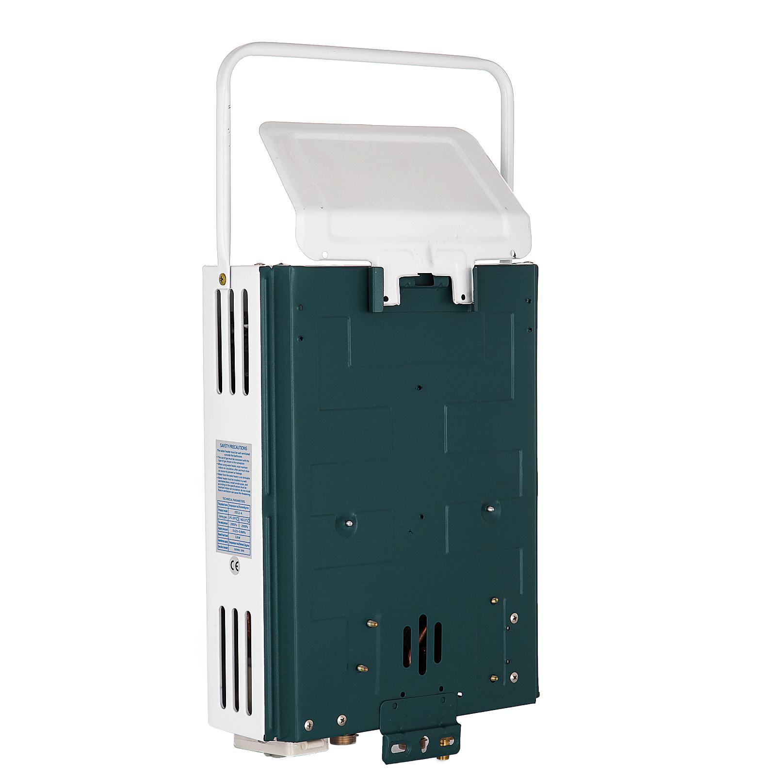 Propangas-Gas-Durchlauferhitzer-Warmwasserbereiter-Boiler-Warmwasserspeicher Indexbild 17
