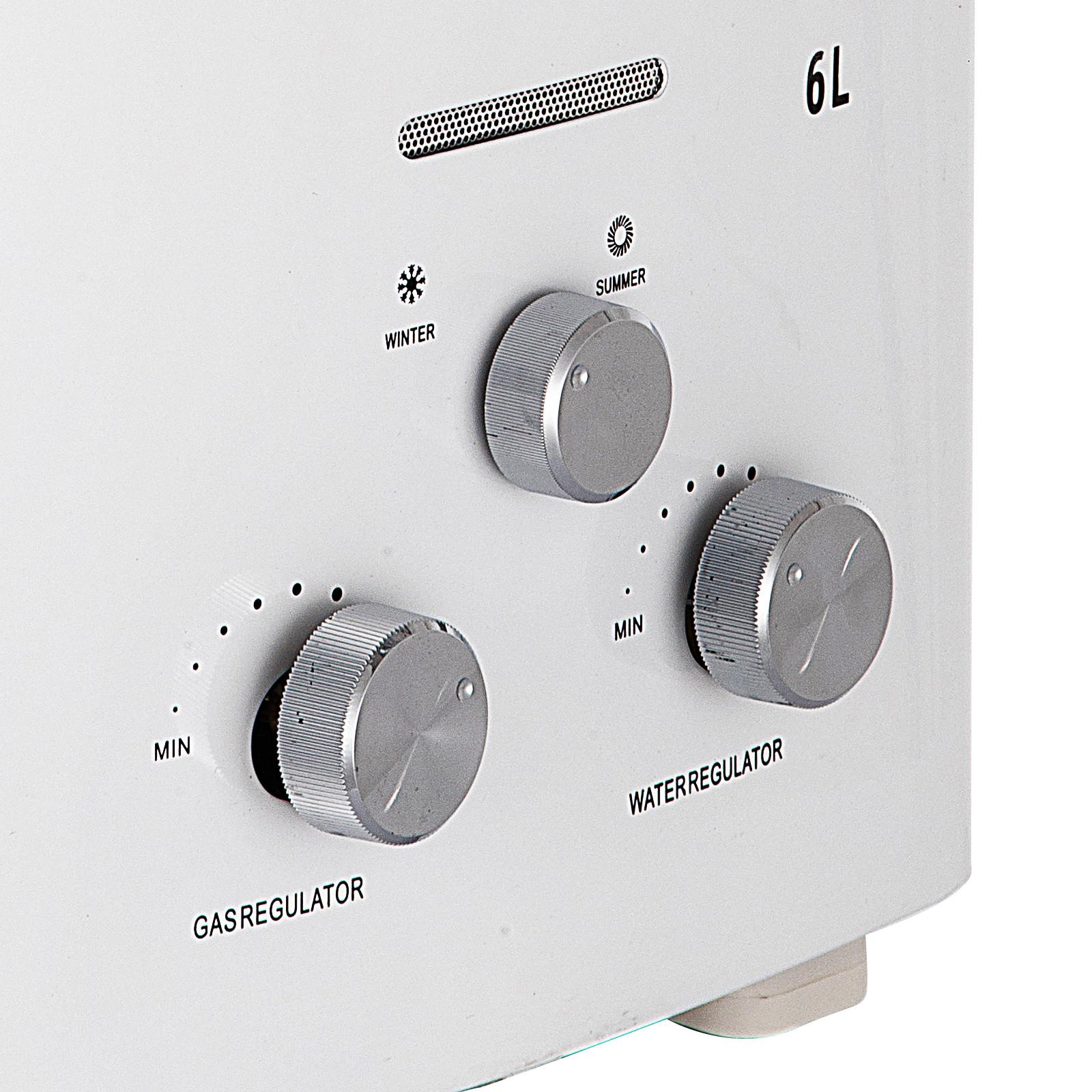 Propangas-Gas-Durchlauferhitzer-Warmwasserbereiter-Boiler-Warmwasserspeicher Indexbild 19