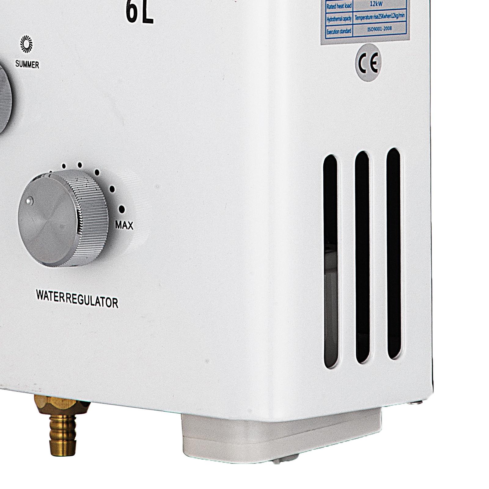 Propangas-Gas-Durchlauferhitzer-Warmwasserbereiter-Boiler-Warmwasserspeicher Indexbild 21