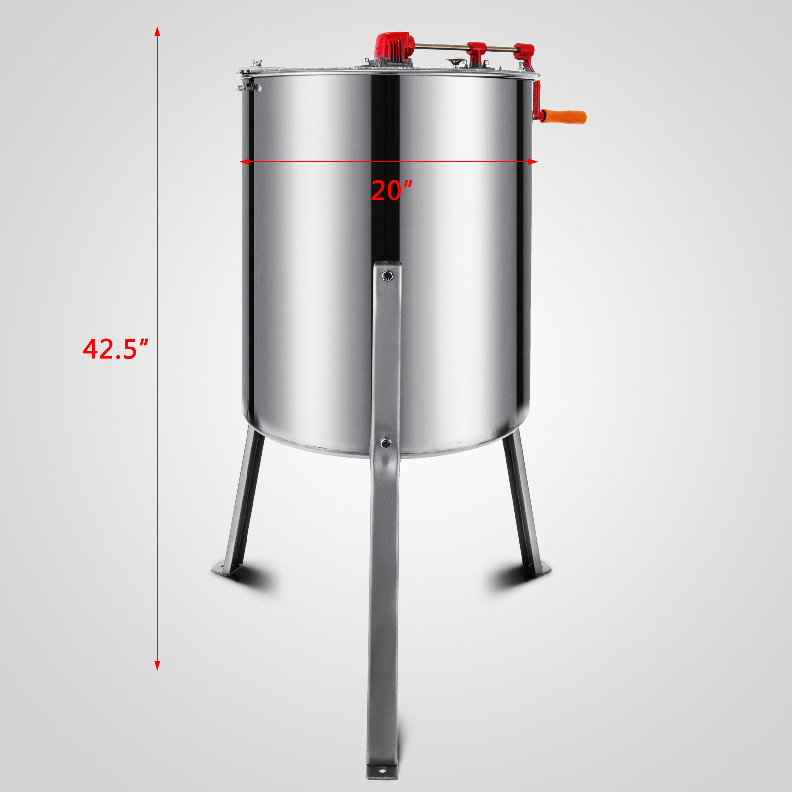 Extracteur-de-Miel-Electrique-manuelle-2-3-4-Cadres-En-Acier-Inox-Centrifugeuse miniature 74
