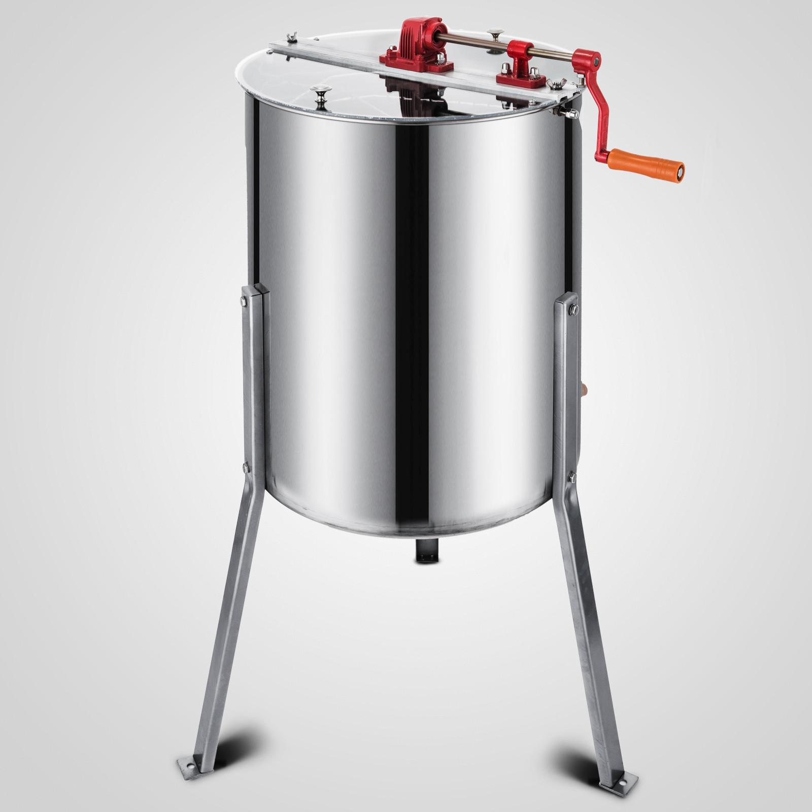 Extracteur-de-Miel-Electrique-manuelle-2-3-4-Cadres-En-Acier-Inox-Centrifugeuse miniature 76