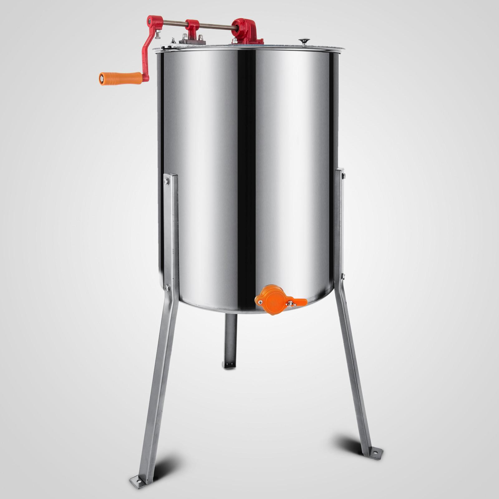 Extracteur-de-Miel-Electrique-manuelle-2-3-4-Cadres-En-Acier-Inox-Centrifugeuse miniature 78