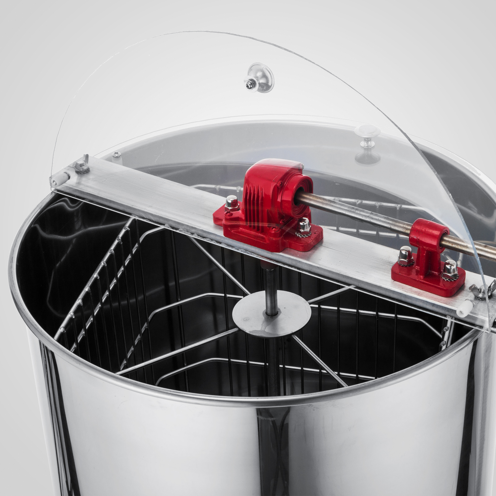 Extracteur-de-Miel-Electrique-manuelle-2-3-4-Cadres-En-Acier-Inox-Centrifugeuse miniature 79