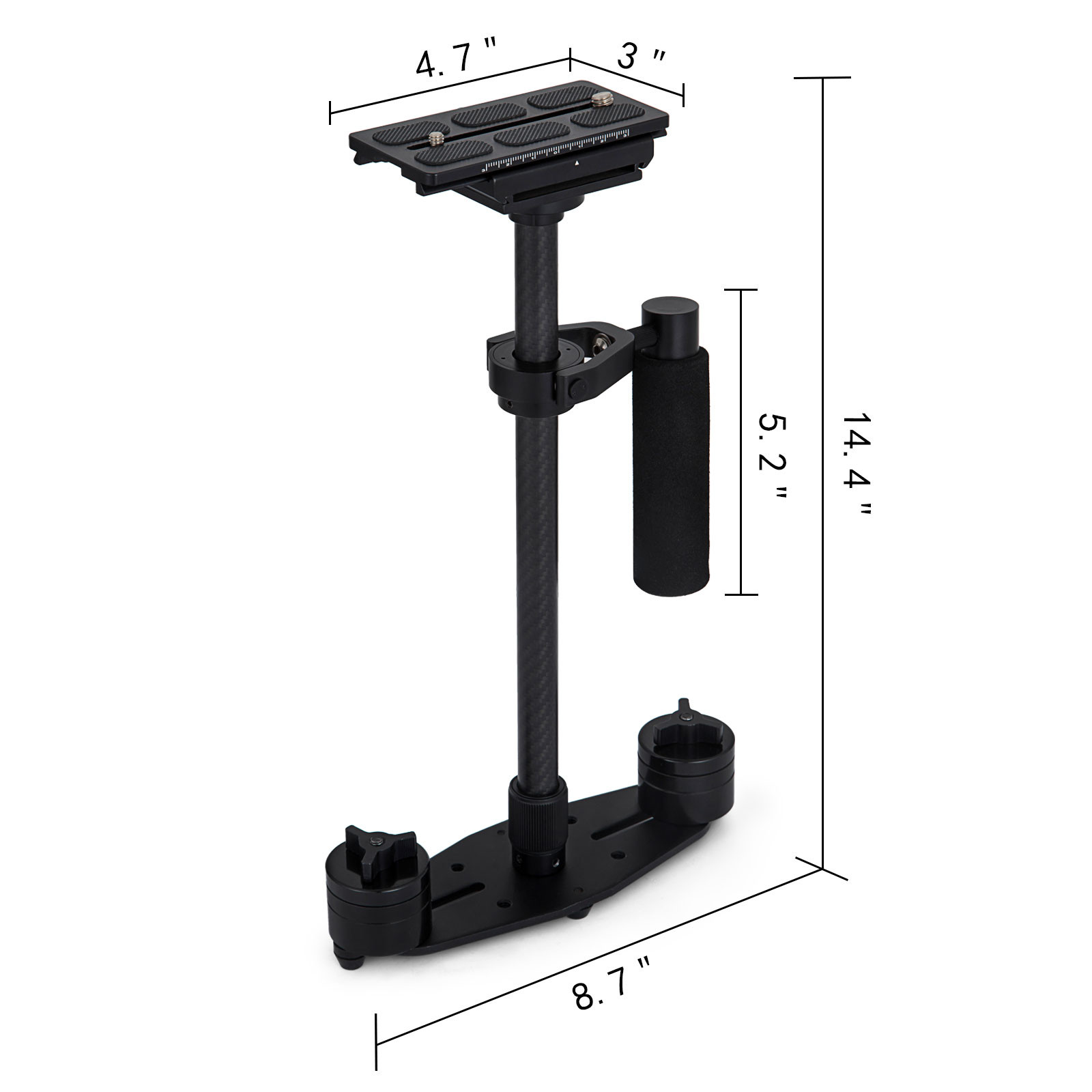 S60T-S60N-Handheld-Steady-Stabilizer-360-For-DSLR-Canon-Camera thumbnail 27