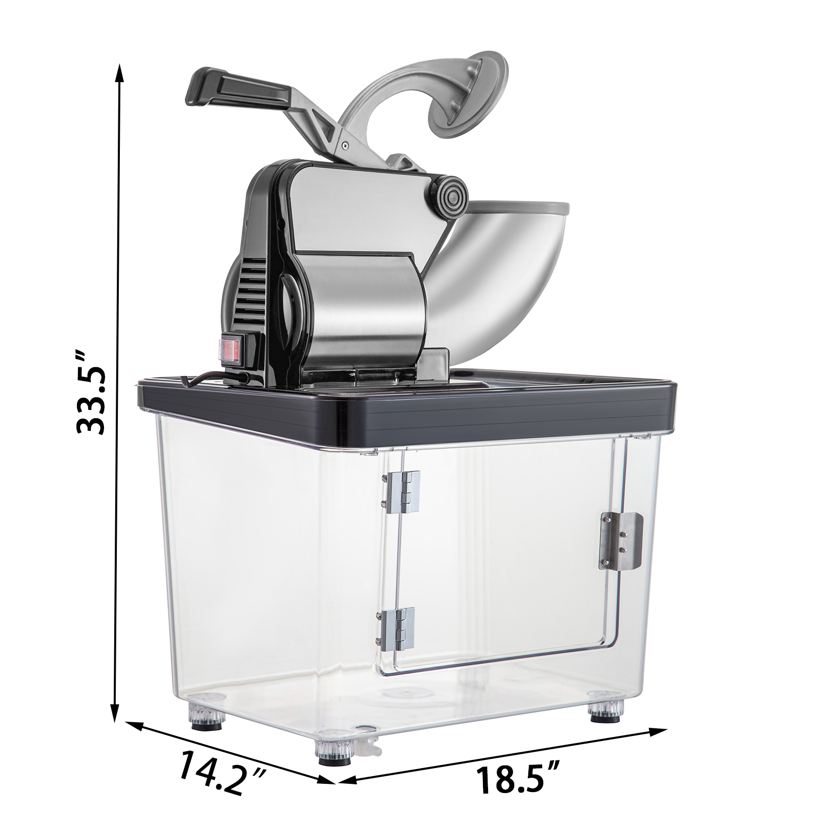miniature 92 - Commercial Ice Shaver Electric Snow Cone Machine Commercial Blender Ice Crushers
