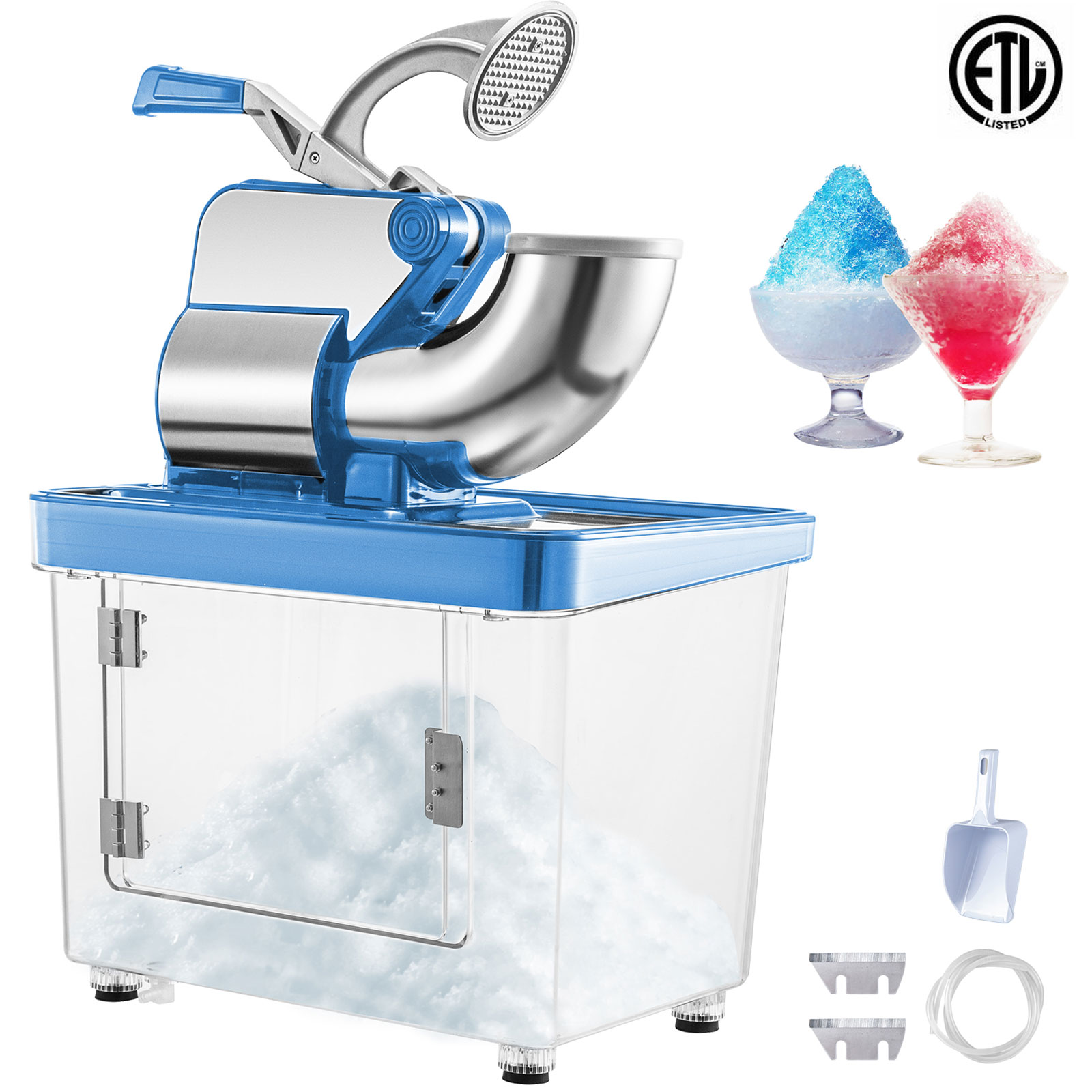 miniature 49 - Commercial Ice Shaver Electric Snow Cone Machine Commercial Blender Ice Crushers