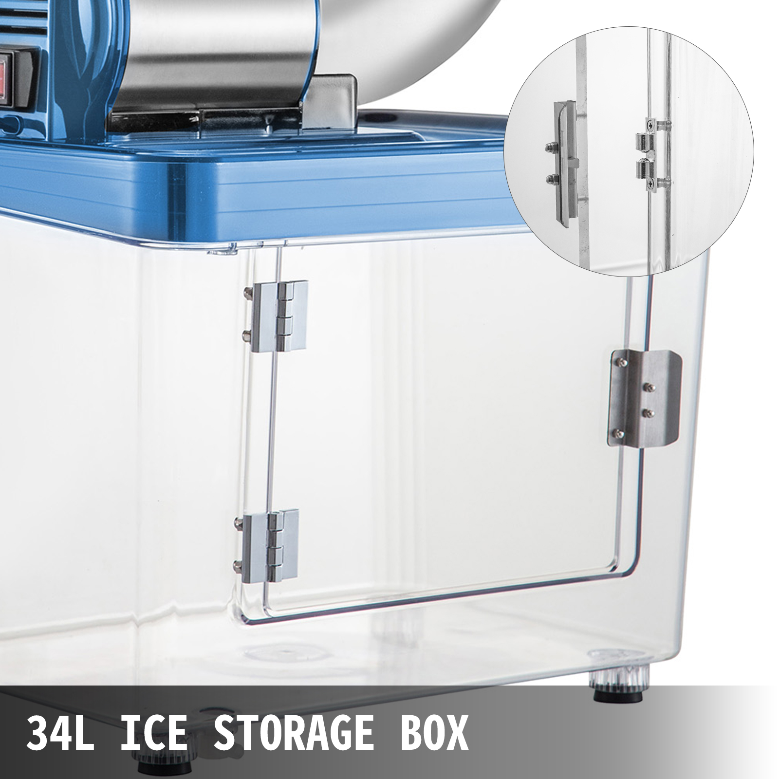 miniature 54 - Commercial Ice Shaver Electric Snow Cone Machine Commercial Blender Ice Crushers