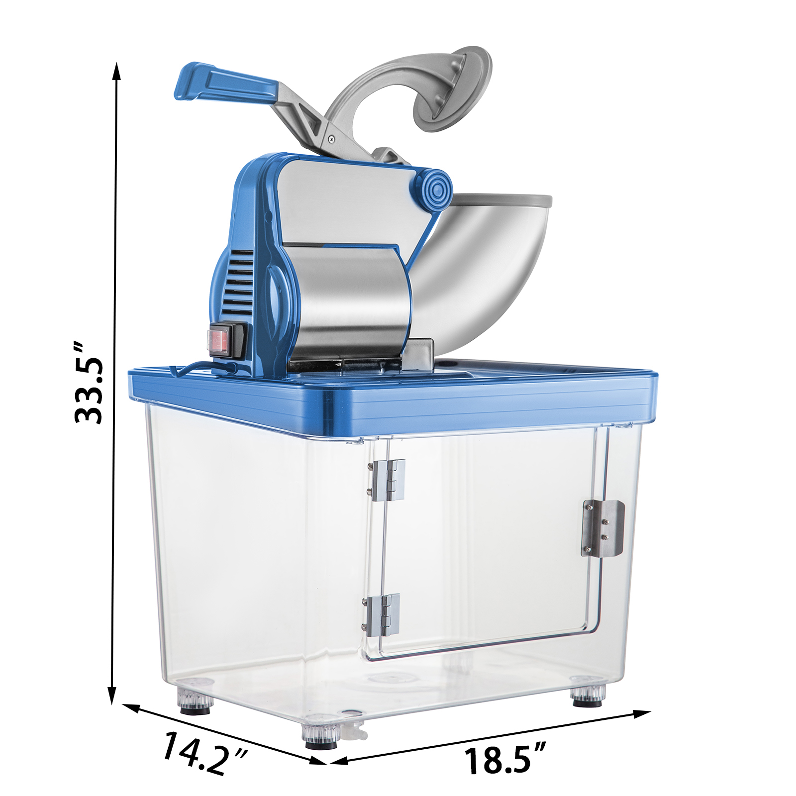 miniature 56 - Commercial Ice Shaver Electric Snow Cone Machine Commercial Blender Ice Crushers