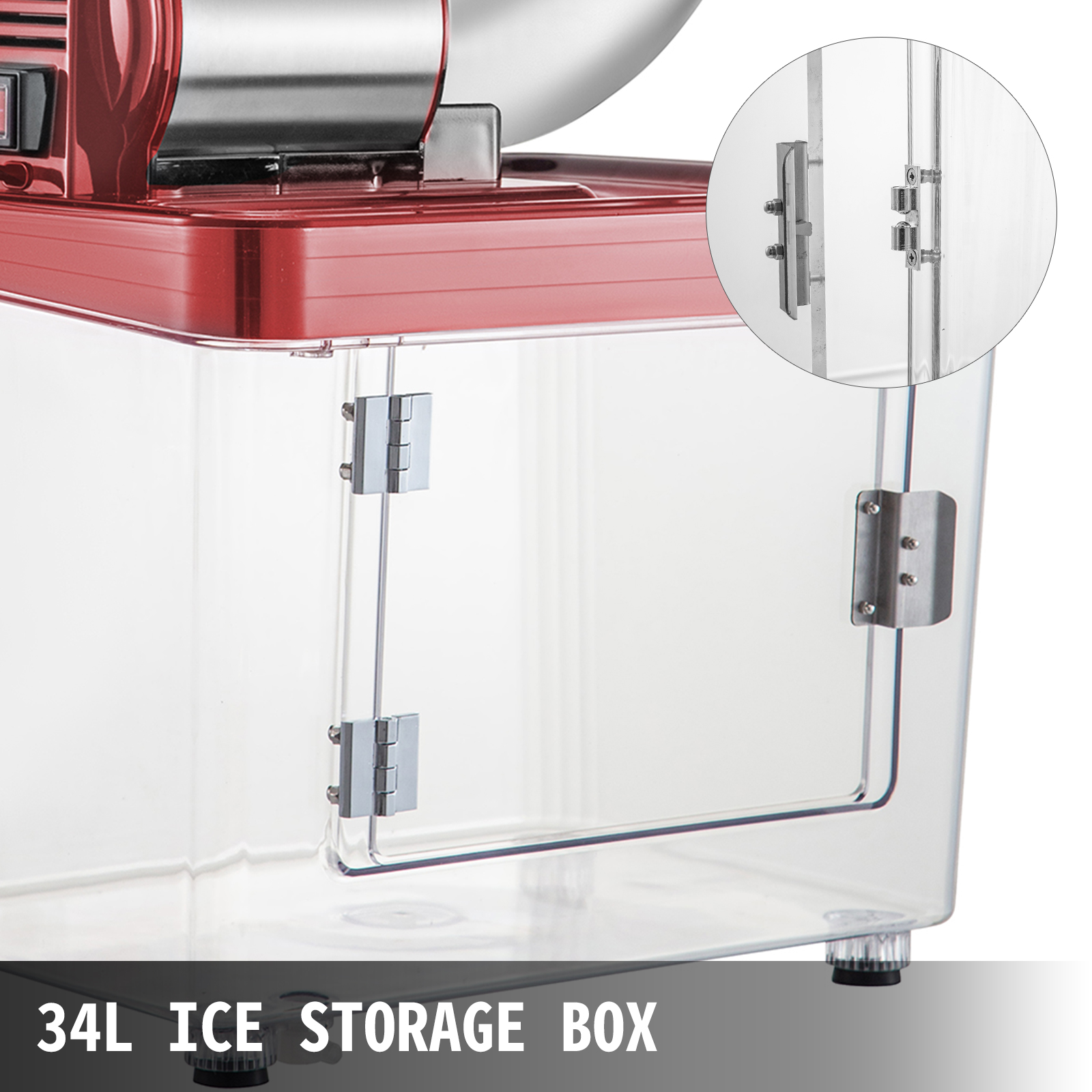 miniature 42 - Commercial Ice Shaver Electric Snow Cone Machine Commercial Blender Ice Crushers