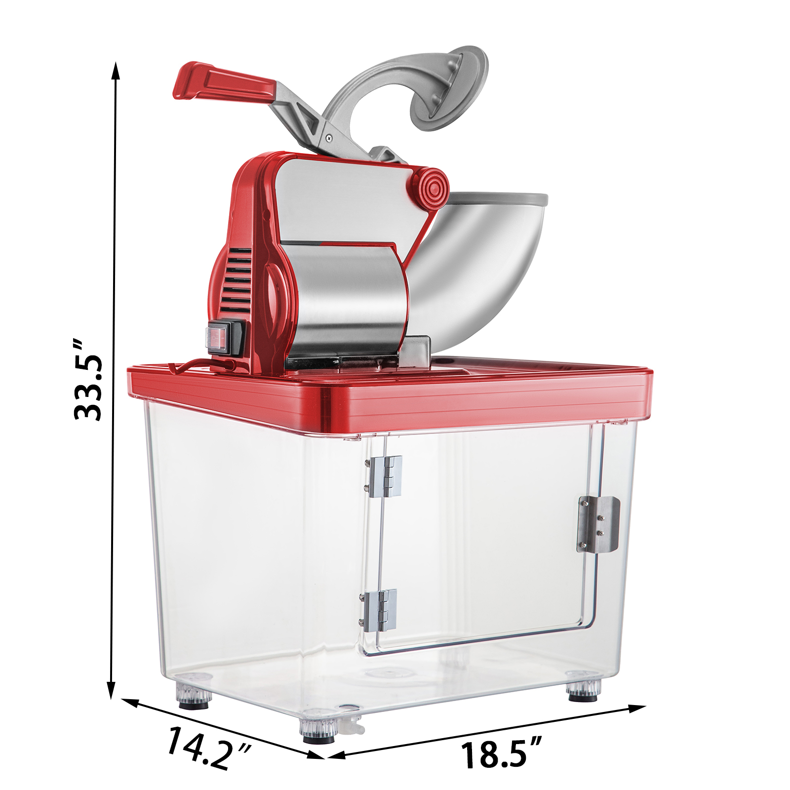 miniature 44 - Commercial Ice Shaver Electric Snow Cone Machine Commercial Blender Ice Crushers