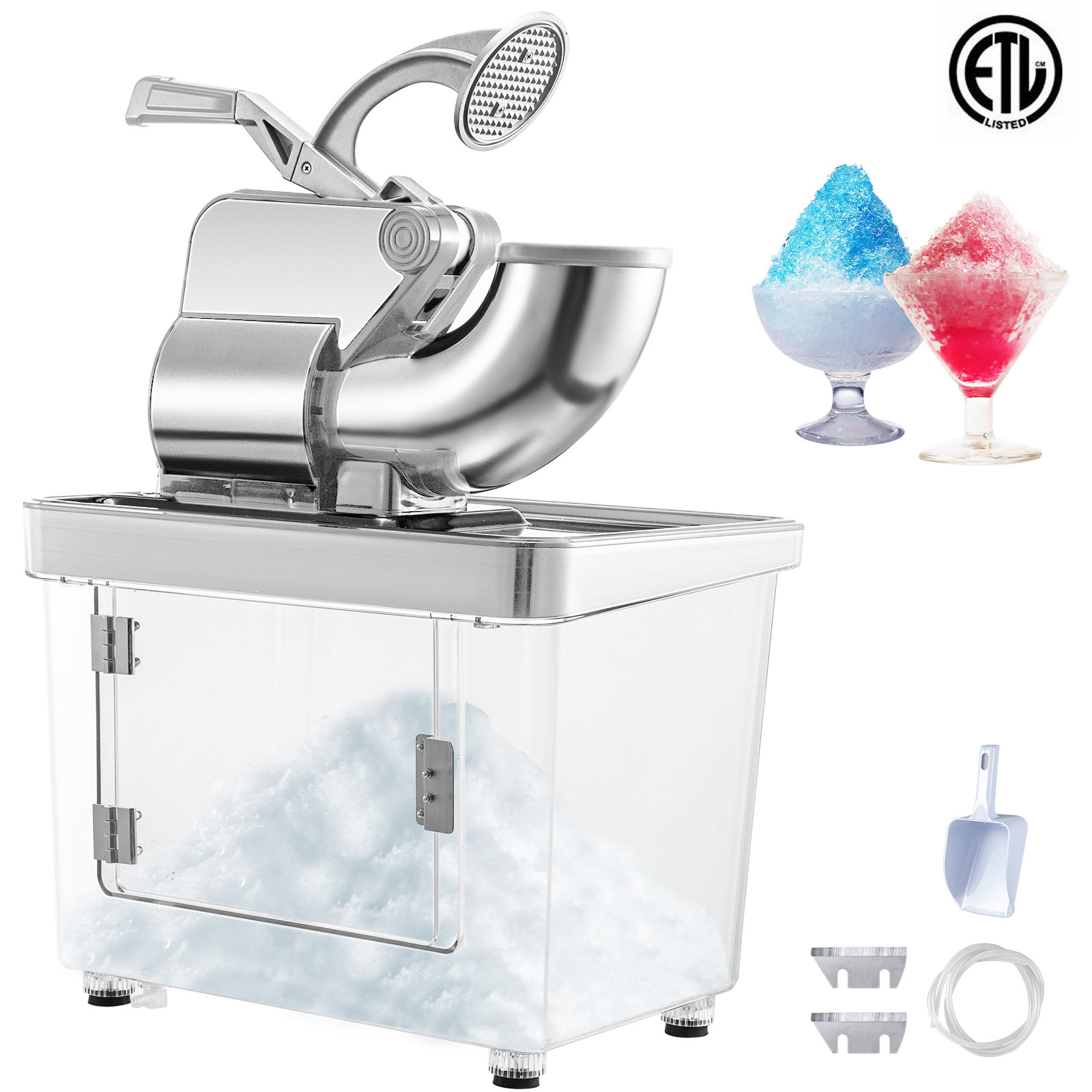 miniature 73 - Commercial Ice Shaver Electric Snow Cone Machine Commercial Blender Ice Crushers