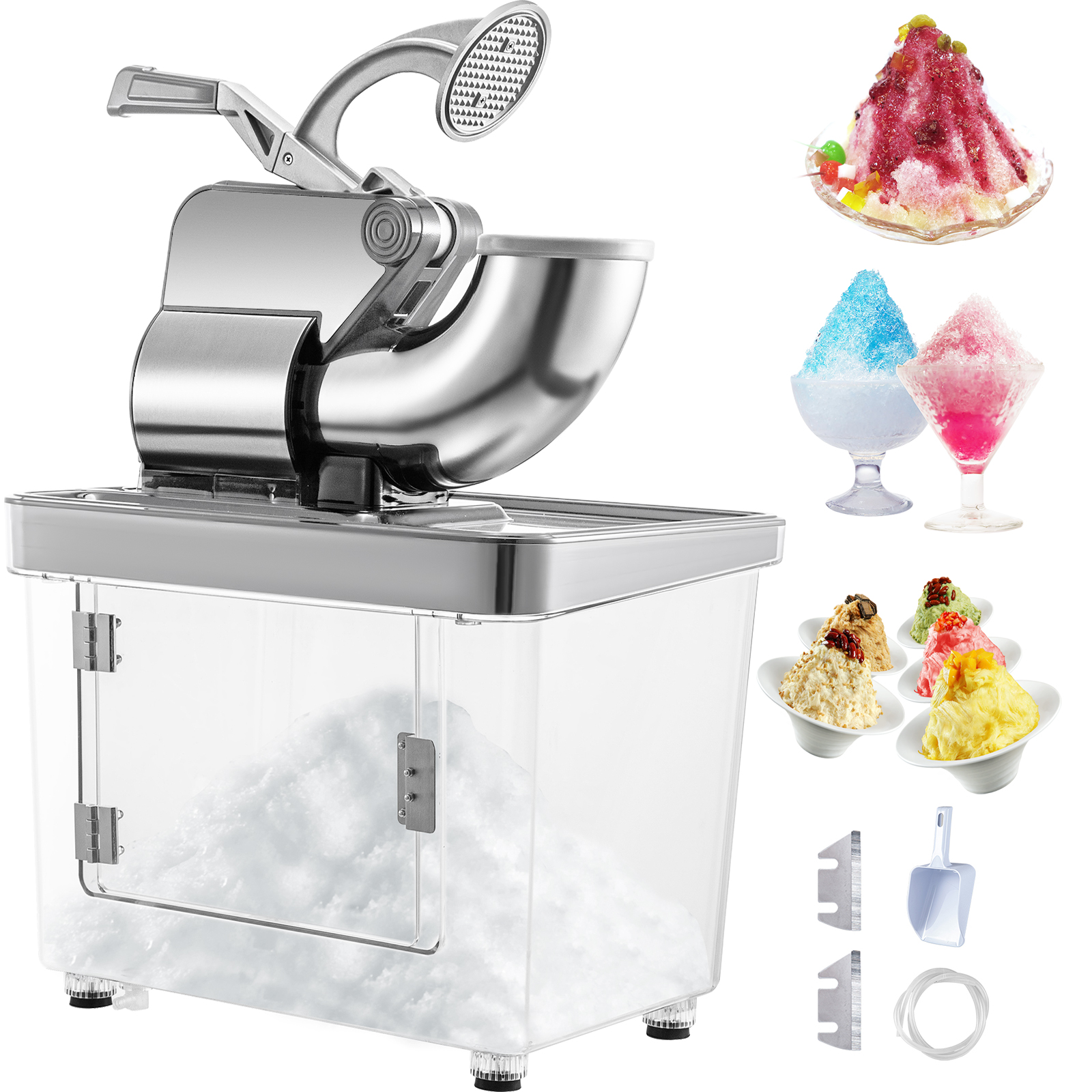 miniature 61 - Commercial Ice Shaver Electric Snow Cone Machine Commercial Blender Ice Crushers