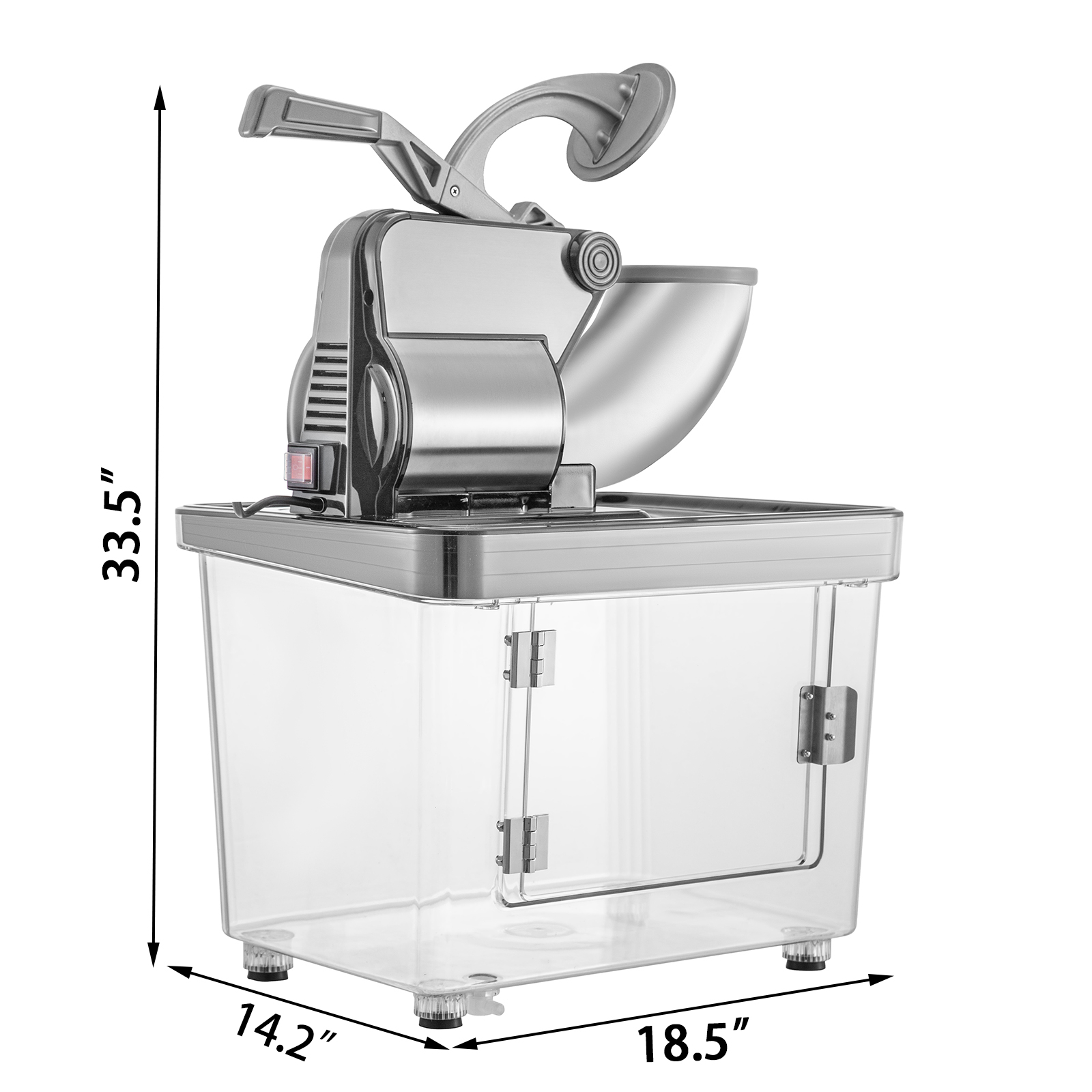 miniature 68 - Commercial Ice Shaver Electric Snow Cone Machine Commercial Blender Ice Crushers