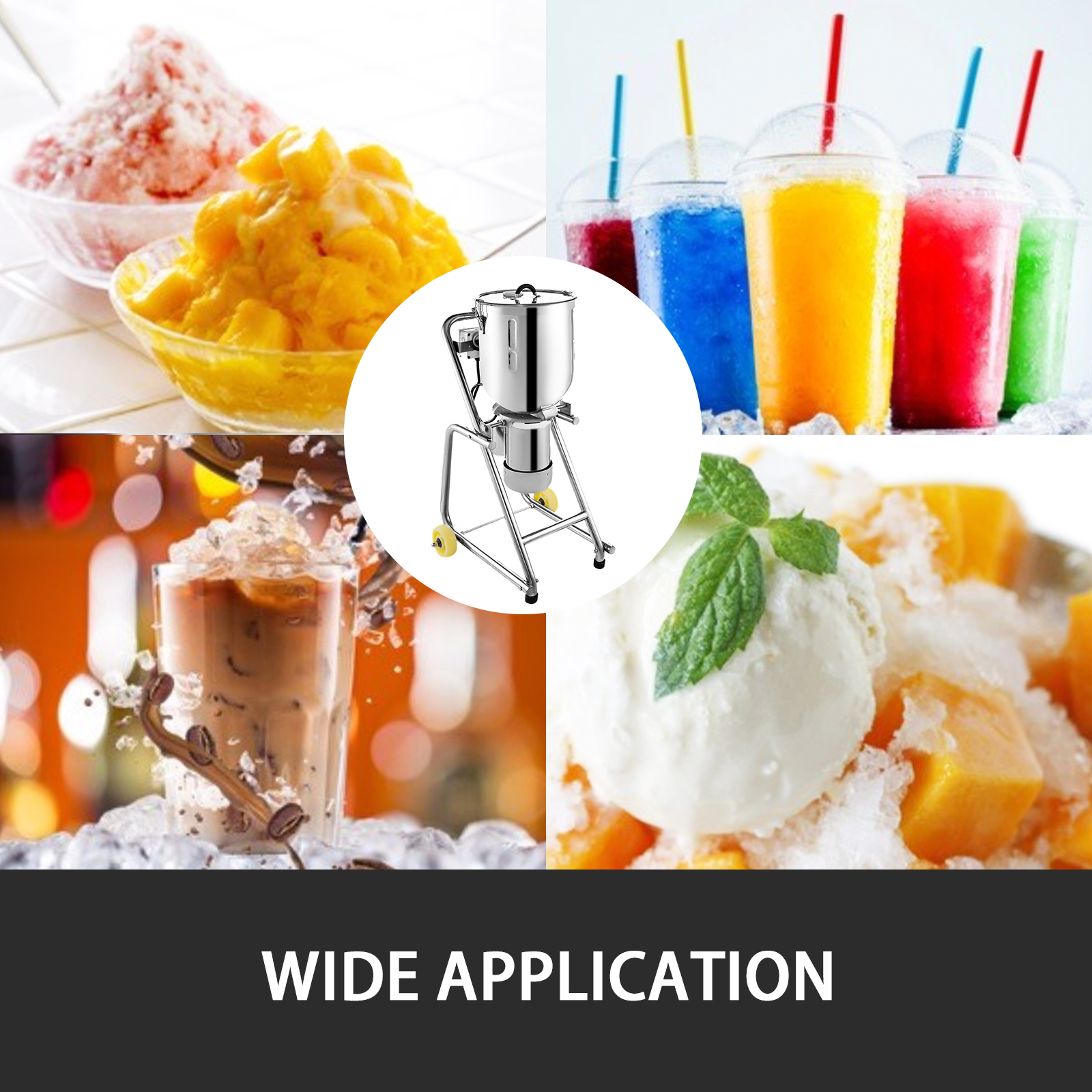 miniature 31 - Commercial Ice Shaver Electric Snow Cone Machine Commercial Blender Ice Crushers
