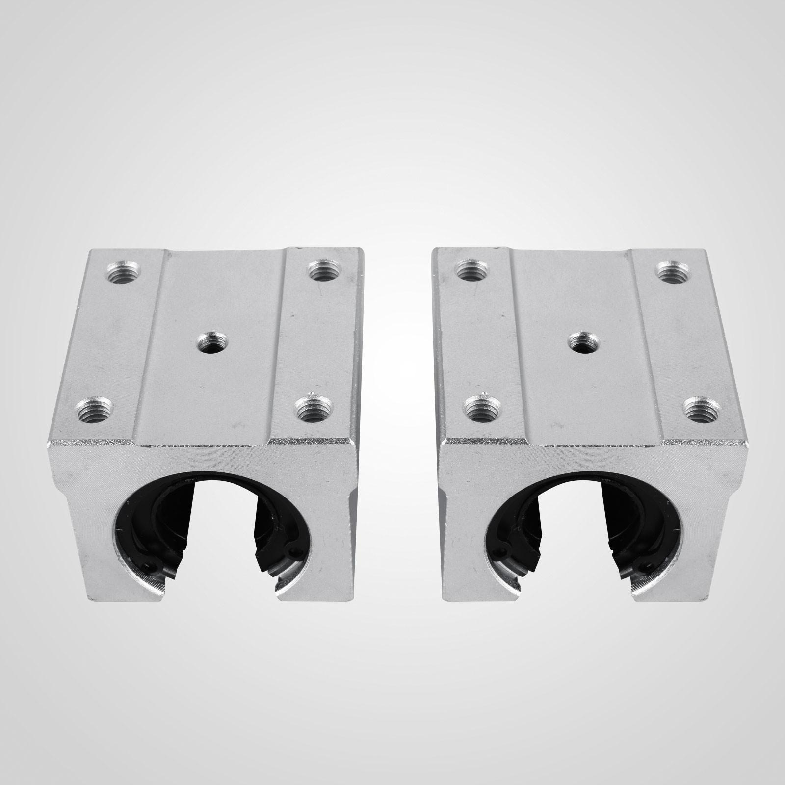 Linear Rail 2XSBR20-1200mm Rails 4XSBR20UU Blocks CNC Routers Bearing Lathes