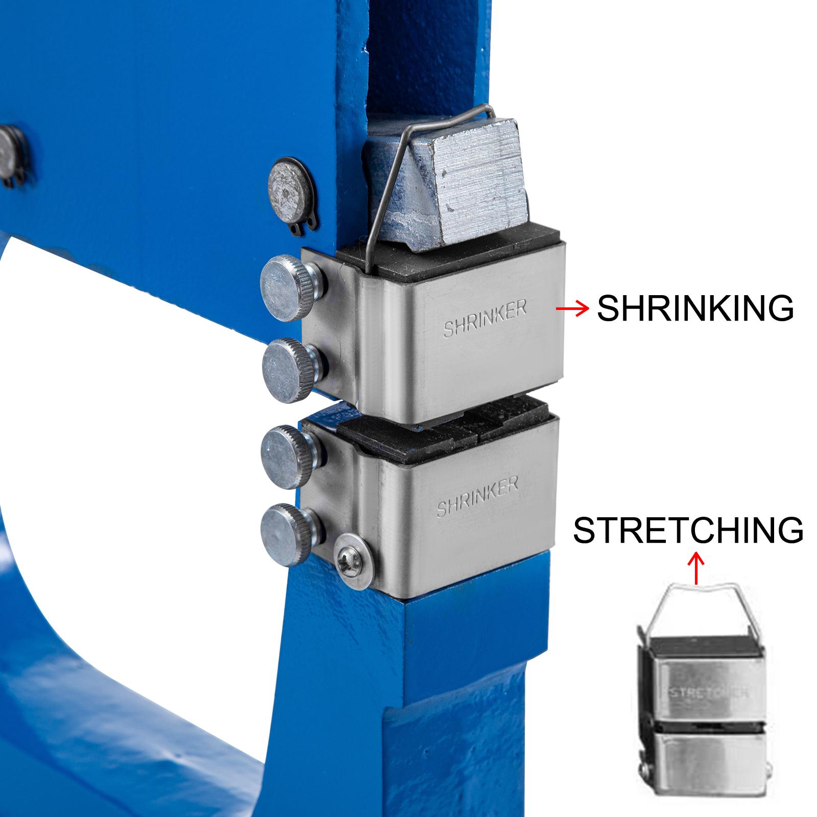 """VEVOR Stretcher Shrinker 16 Gauge 8.5/"""" Throat Depth Sheet Metal Forming SS-16"""
