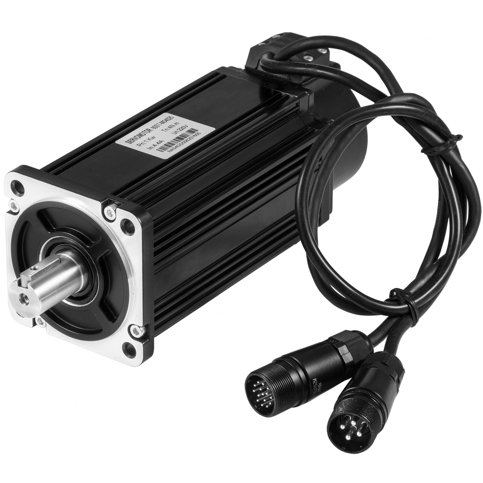 Servo Motor 2~15NM AC CNC Servo Driver Cable Kit for CNC Milling
