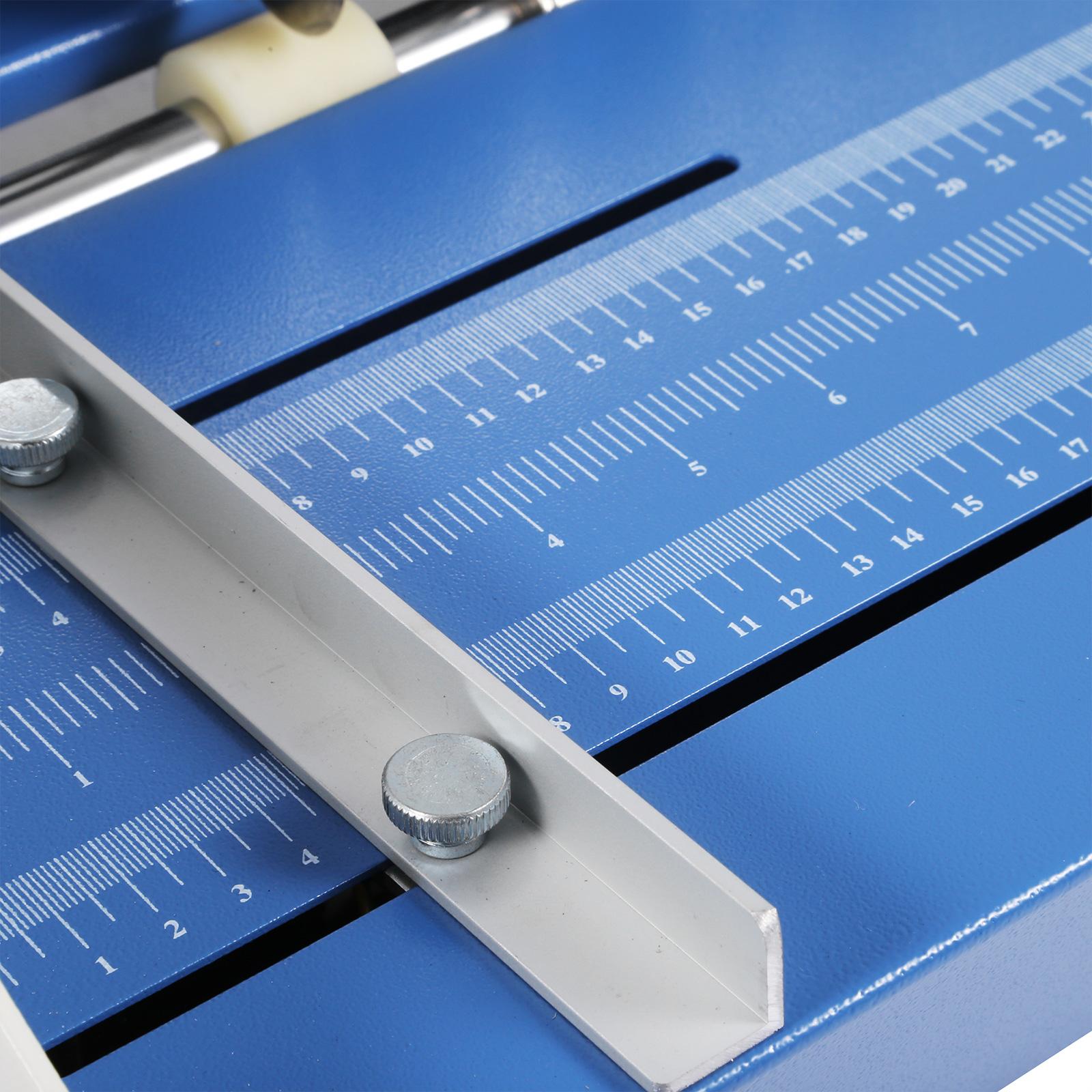 Cordonatrice-Perforatrice-Max-350-520mm-Profondita-Regolabile-Elettrica-Manuale miniatura 22