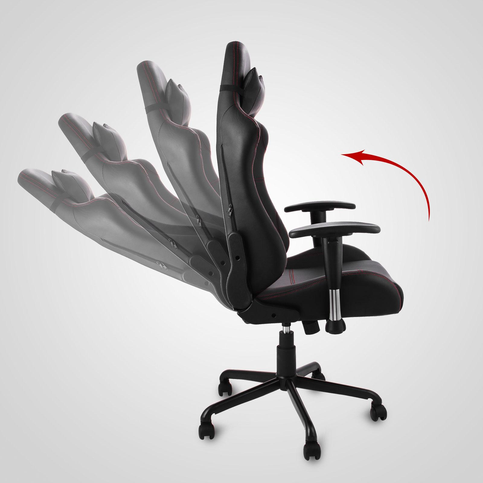 b rostuhl chefsessel racer sessel gaming stuhl drehstuhl office chair racing ebay. Black Bedroom Furniture Sets. Home Design Ideas