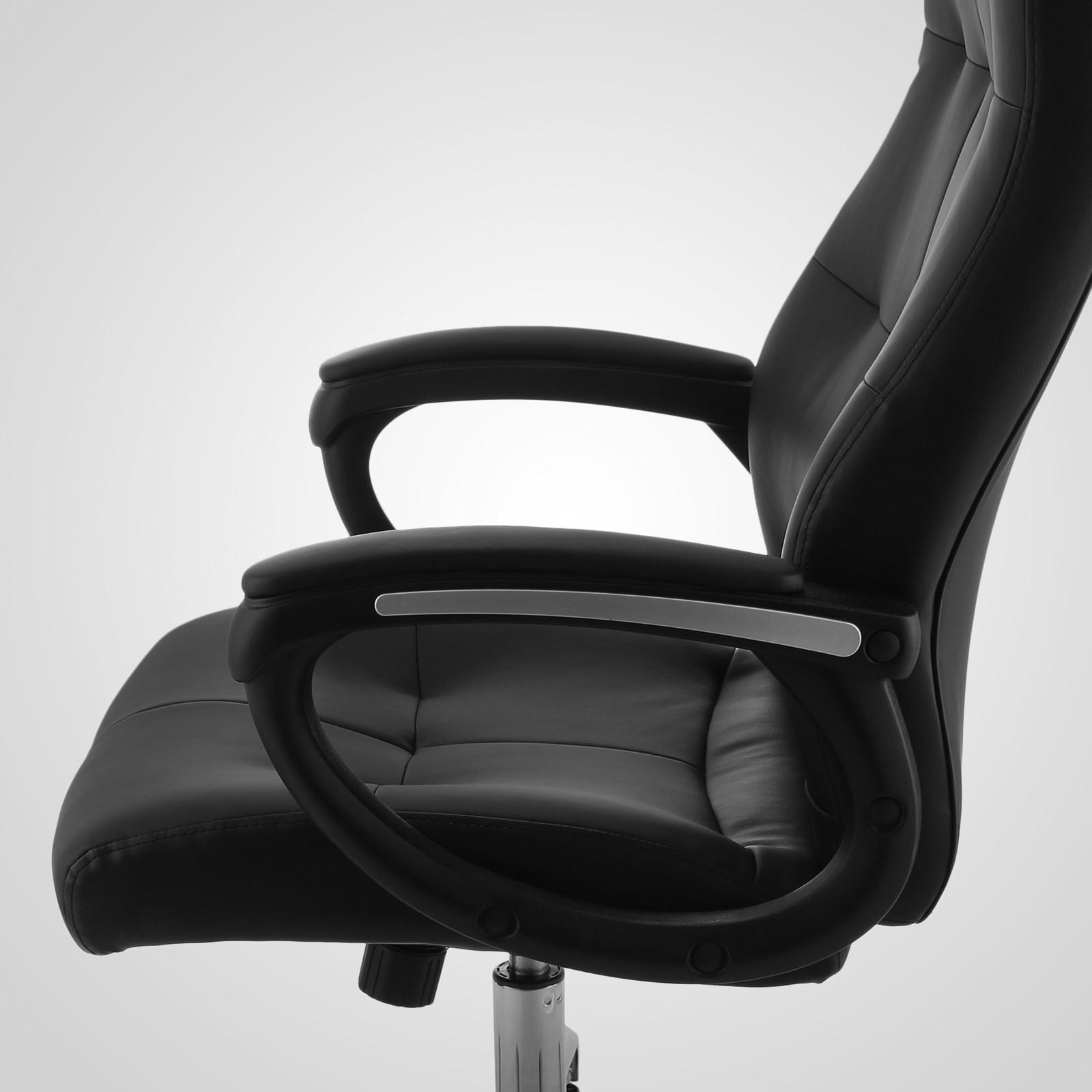 Sedie ufficio con supporto lombare poltrona sedia girevole for Sedia ufficio xxl