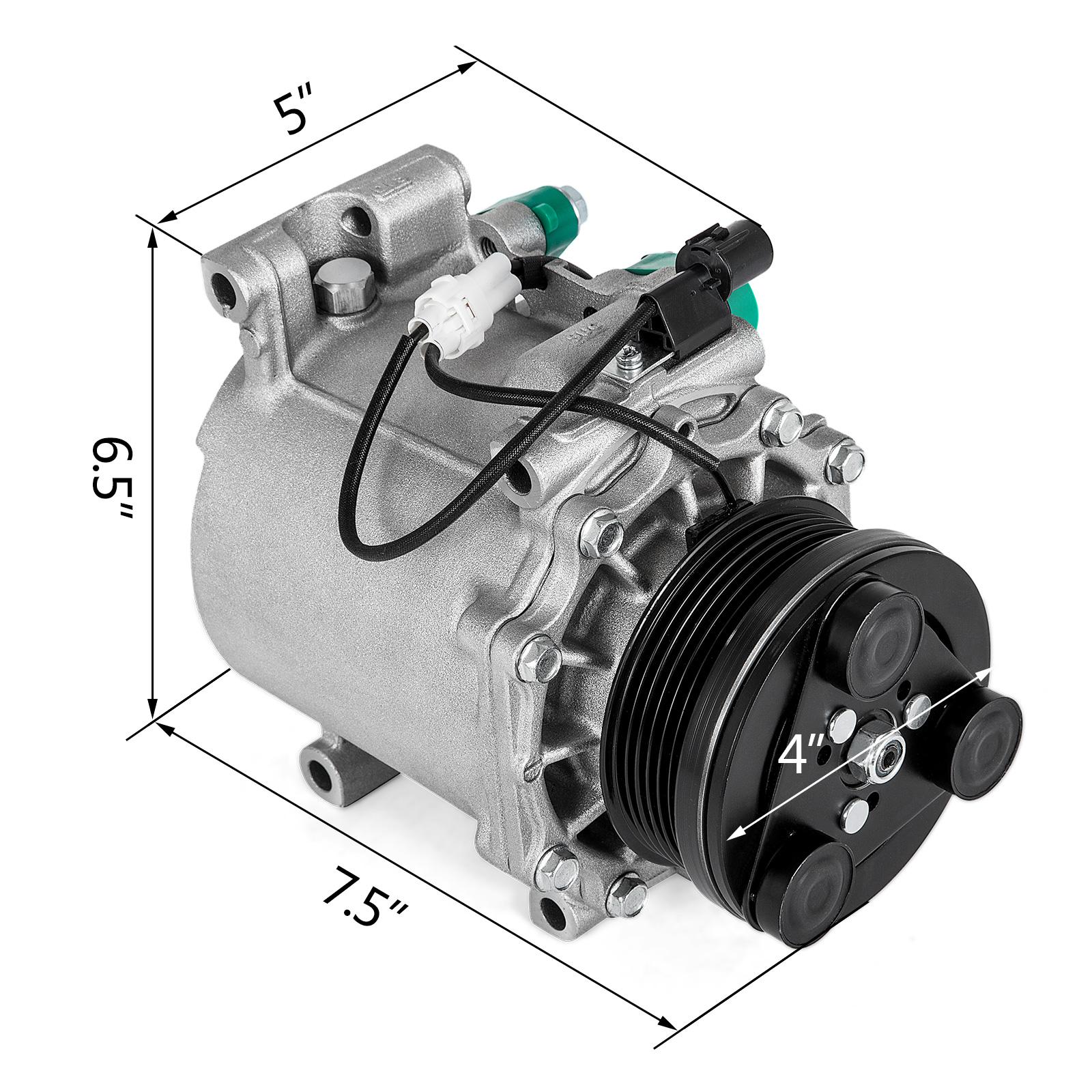 Get AC Compressor for 2004-2012 Mitsubishi Galant 2006-2011 Eclipse 2.4L Motor