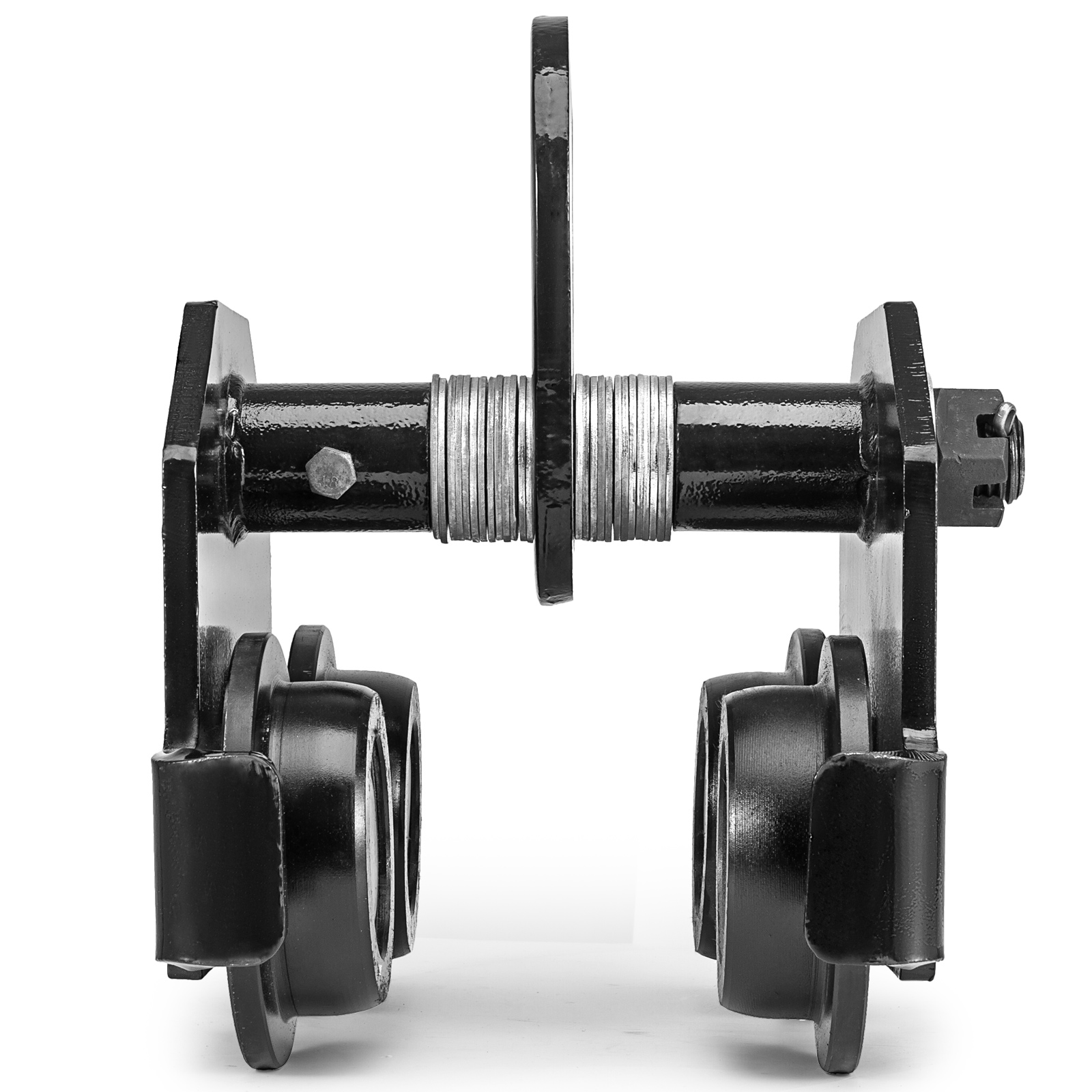 0-5T-2T-3T-Ton-Push-Beam-Trolley-For-Heavy-Loads-To-6600-Lb-Fits-Straight-I-Beam miniature 75